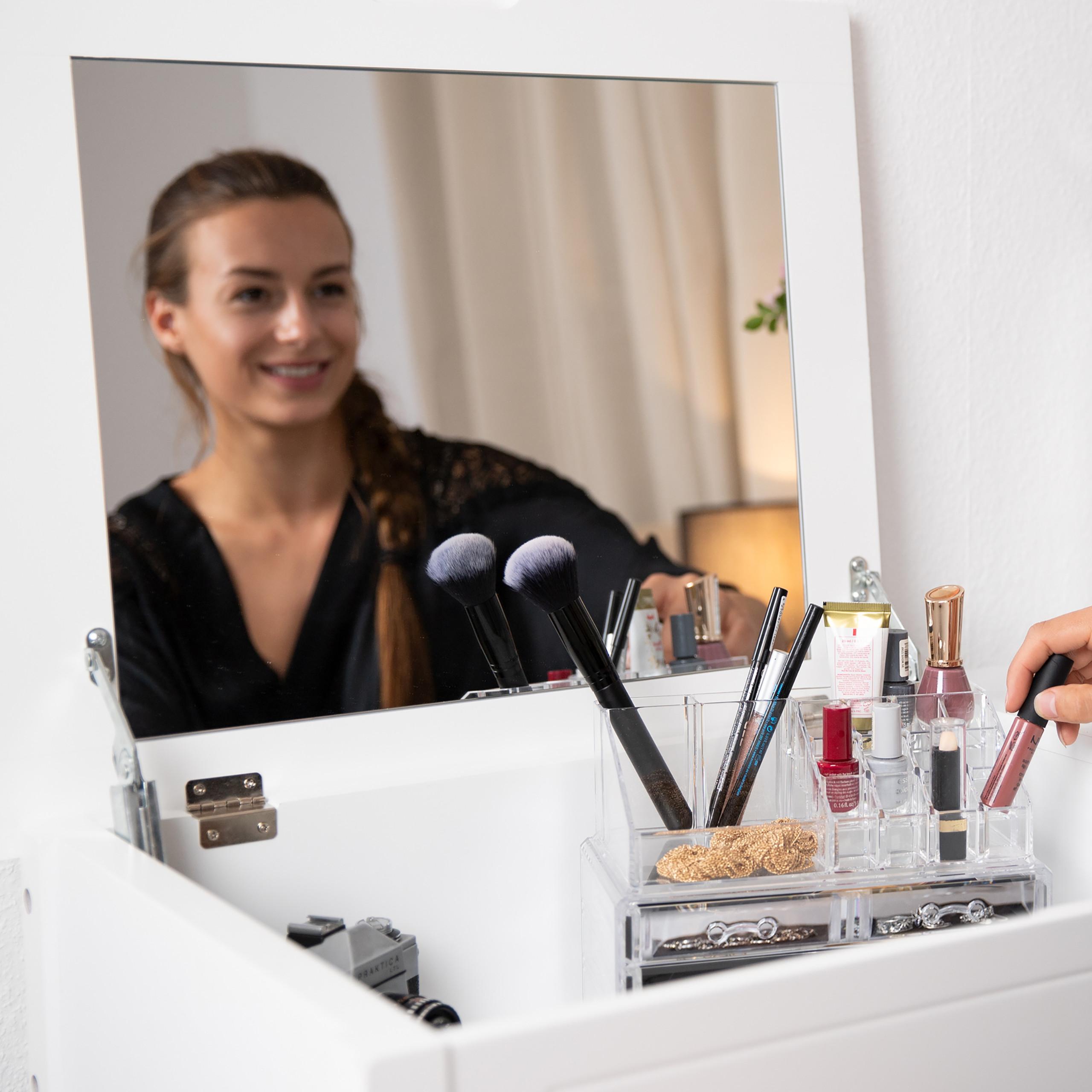 make-up-organizer-met-6-lades-acryl-cosmeticahouder-make-up-cosmetica-opslag miniatuur 7