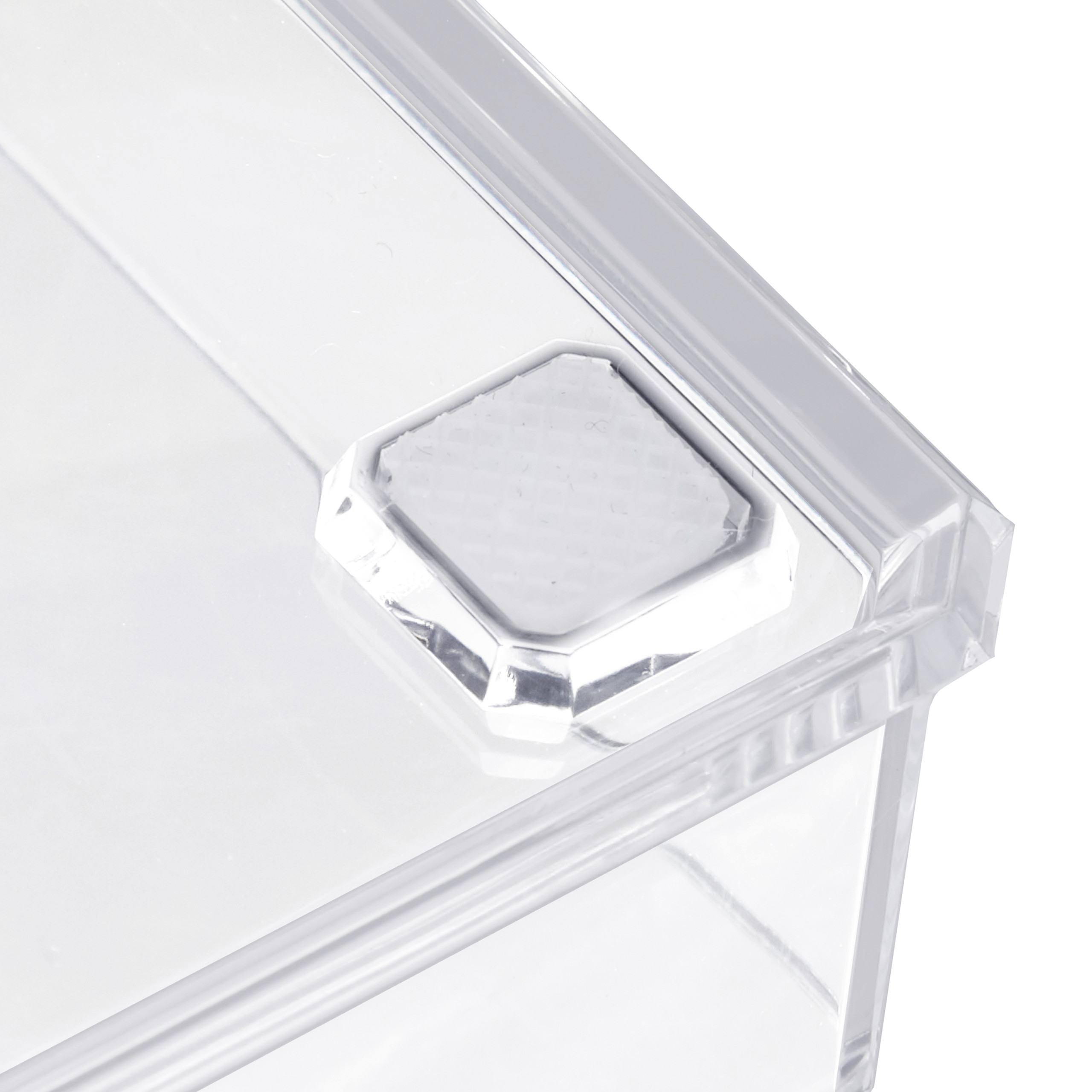 Cosmetic-Organiser-with-2-Drawers-Acrylic-Makeup-Kit-Lipstick-Holder-Large thumbnail 11