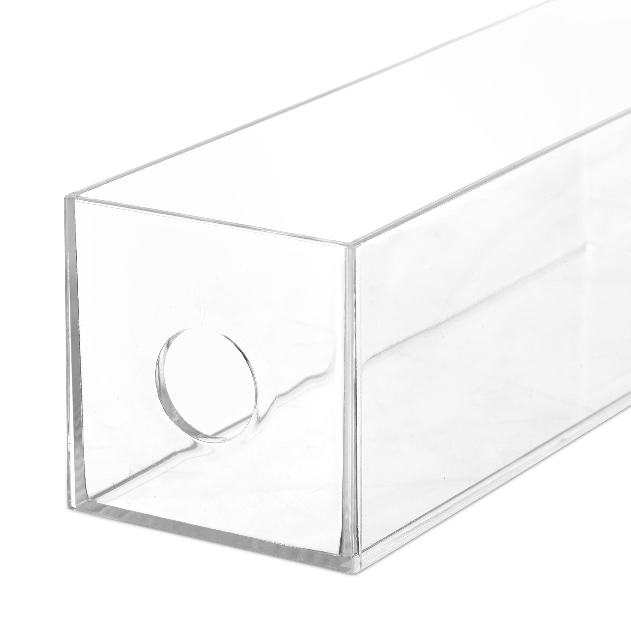 Transparent-Make-Up-Organiser-Storage-Box-with-4-Drawers thumbnail 10