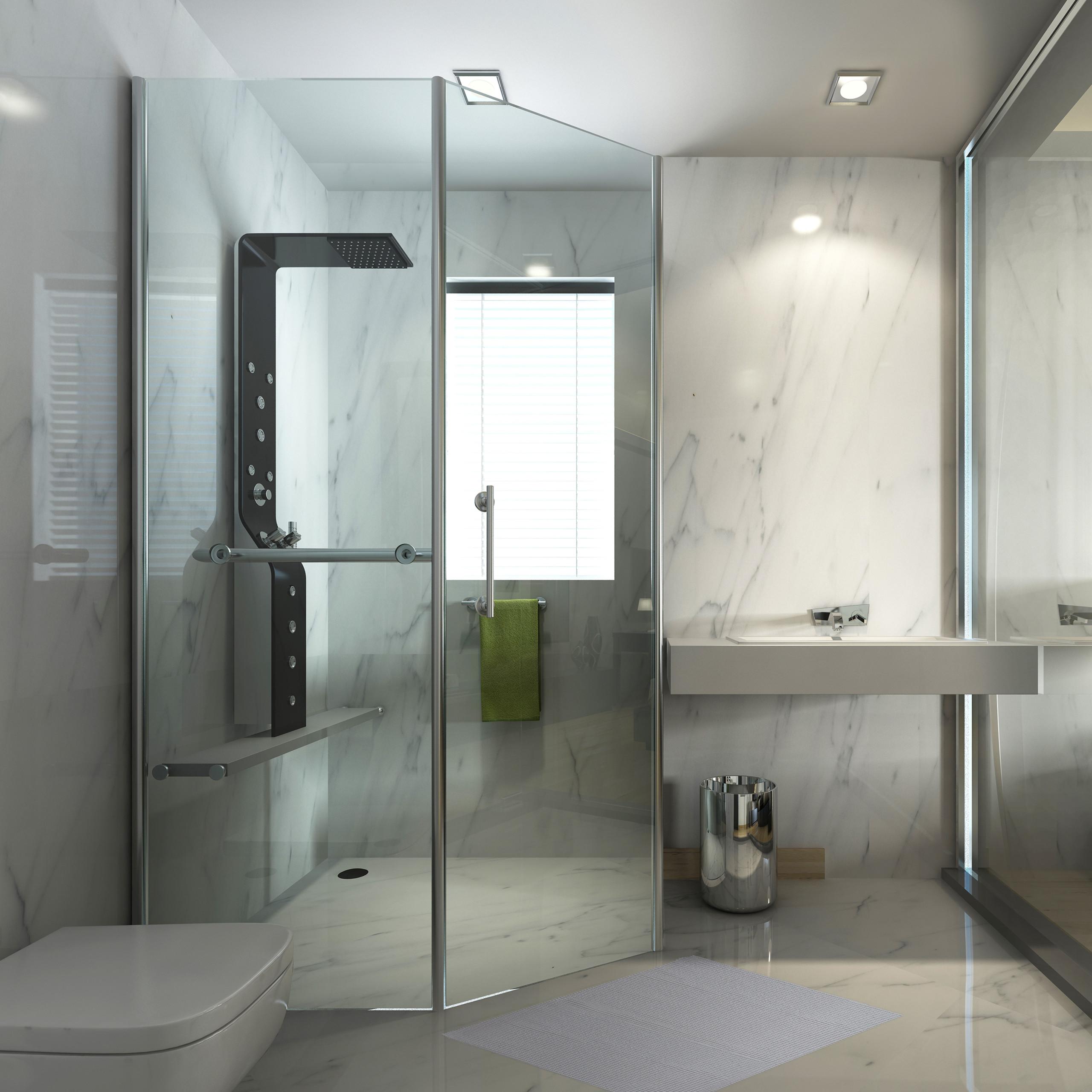 Détails sur Tapis moelleux PVC gris salle de bain découpable antidérapant  WC toilettes