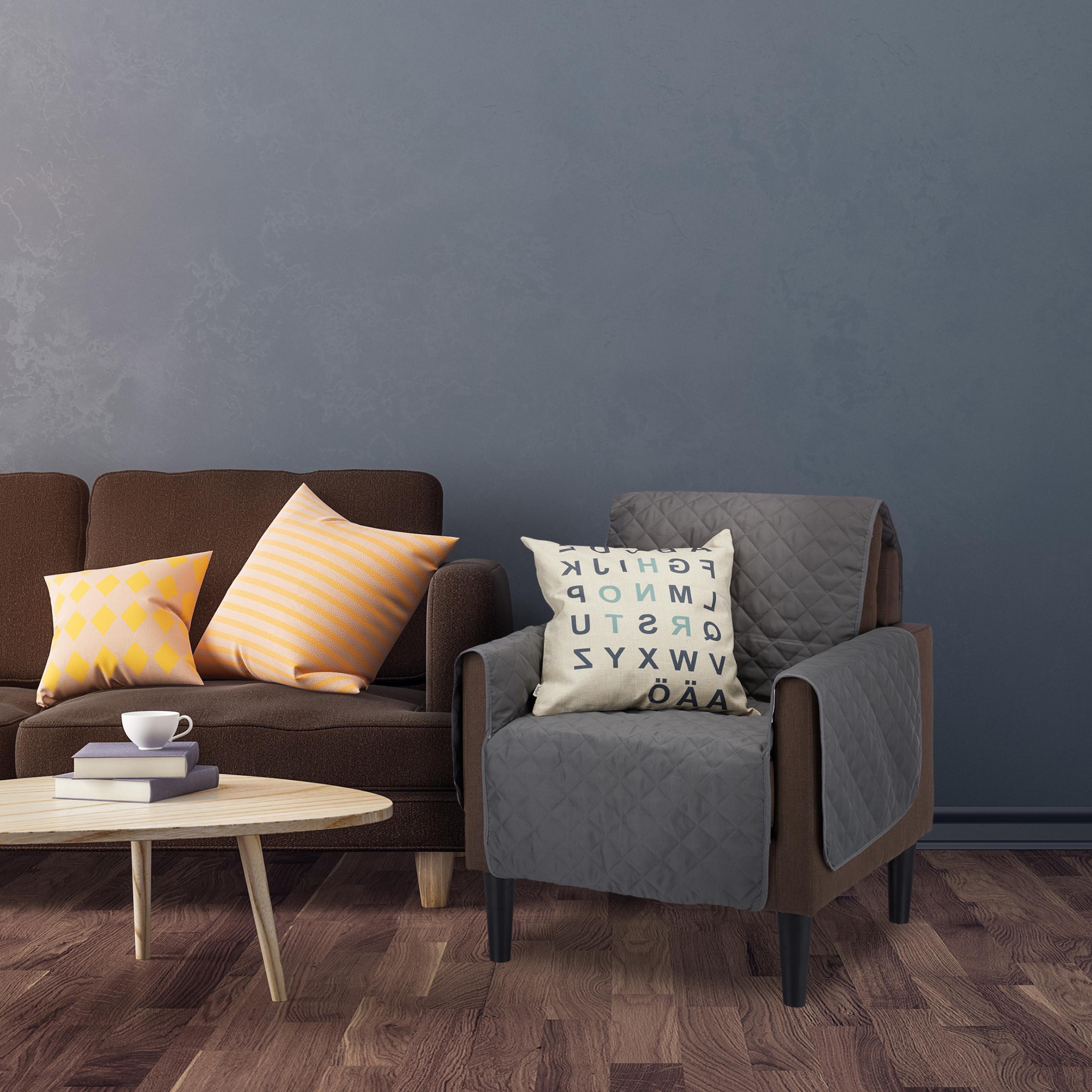 housse canap housse fauteuil protection rev tement plaid poils animaux t ches ebay. Black Bedroom Furniture Sets. Home Design Ideas