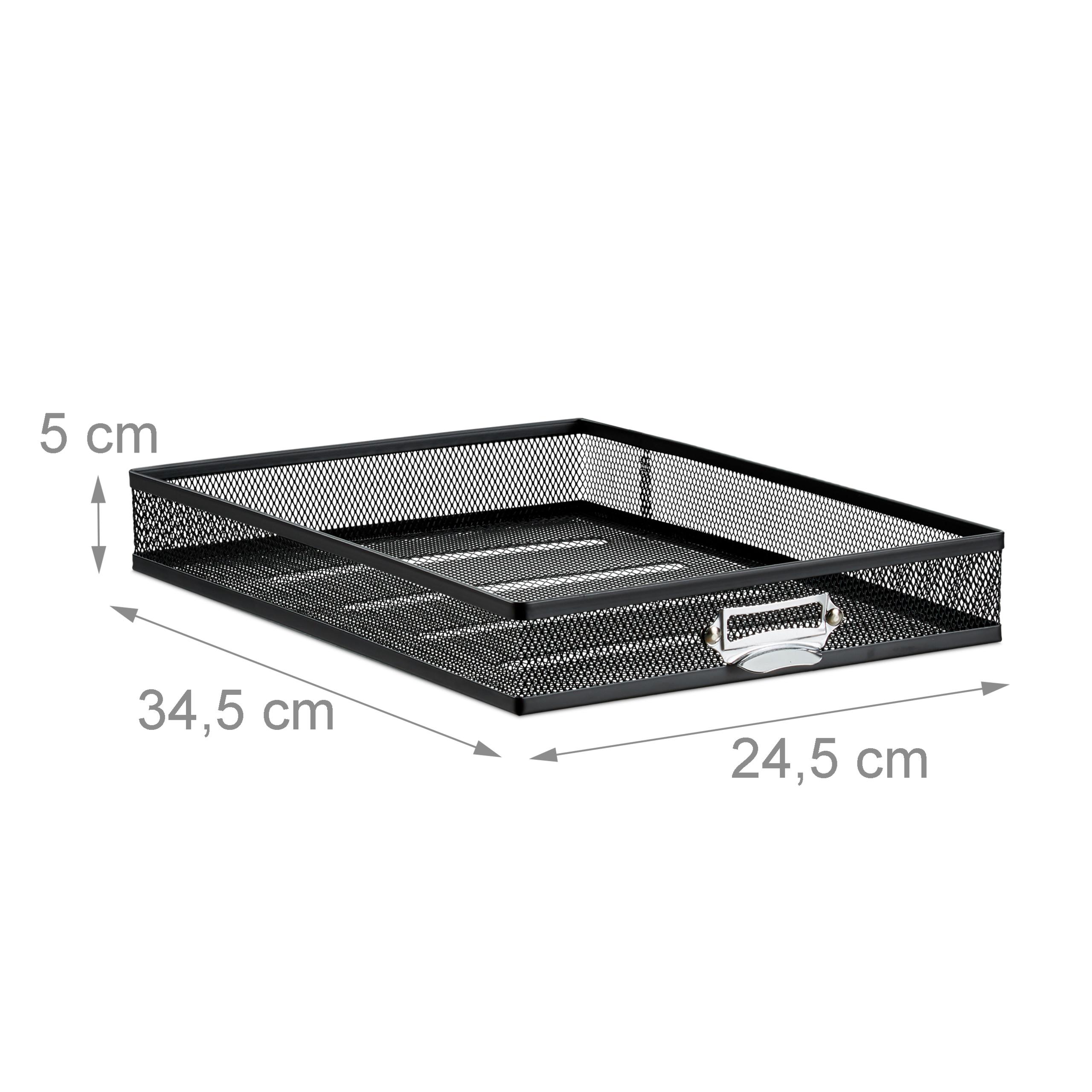 Corbeille-a-courrier-porte-documents-organiseur-porte-revues-3-tiroirs miniature 14