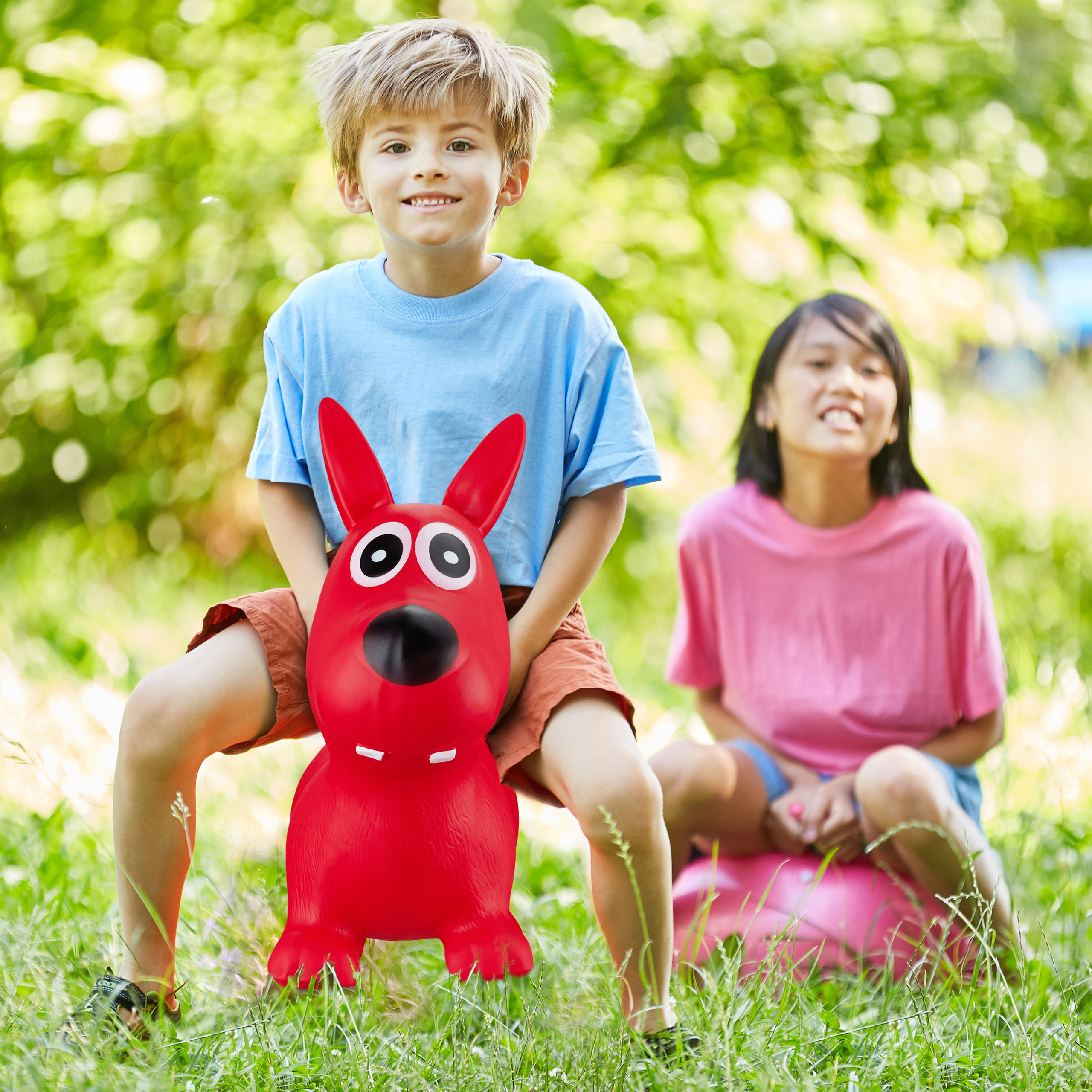Hopping-Animal-Bouncy-Dog-for-Children-up-to-50-kg-Space-Hopper-Colourful thumbnail 4