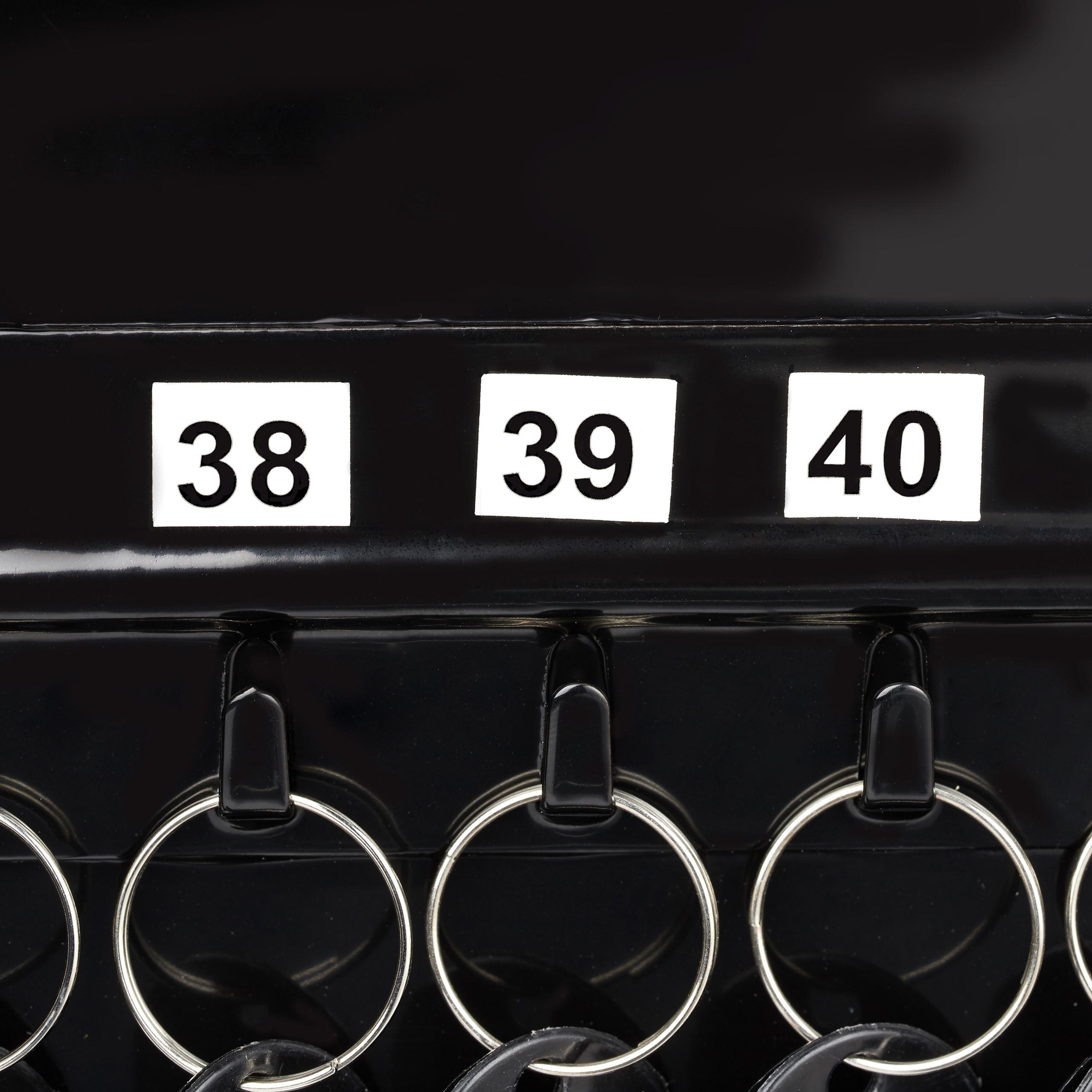 Boite-a-cles-armoire-a-clef-murale-rangement-48-crochets-fermant-a-cle-garage miniature 23