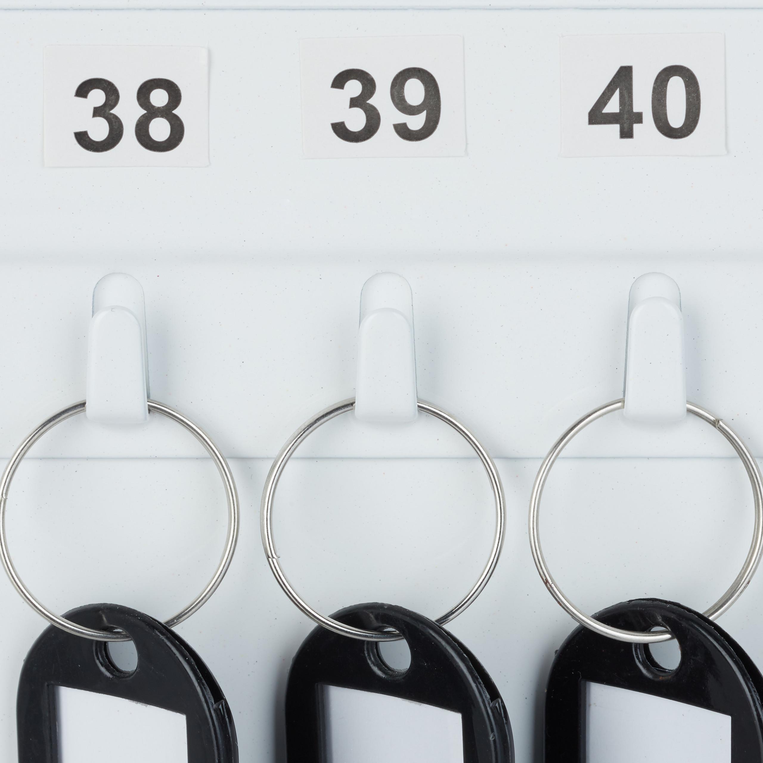 Boite-a-cles-armoire-a-clef-murale-rangement-48-crochets-fermant-a-cle-garage miniature 8