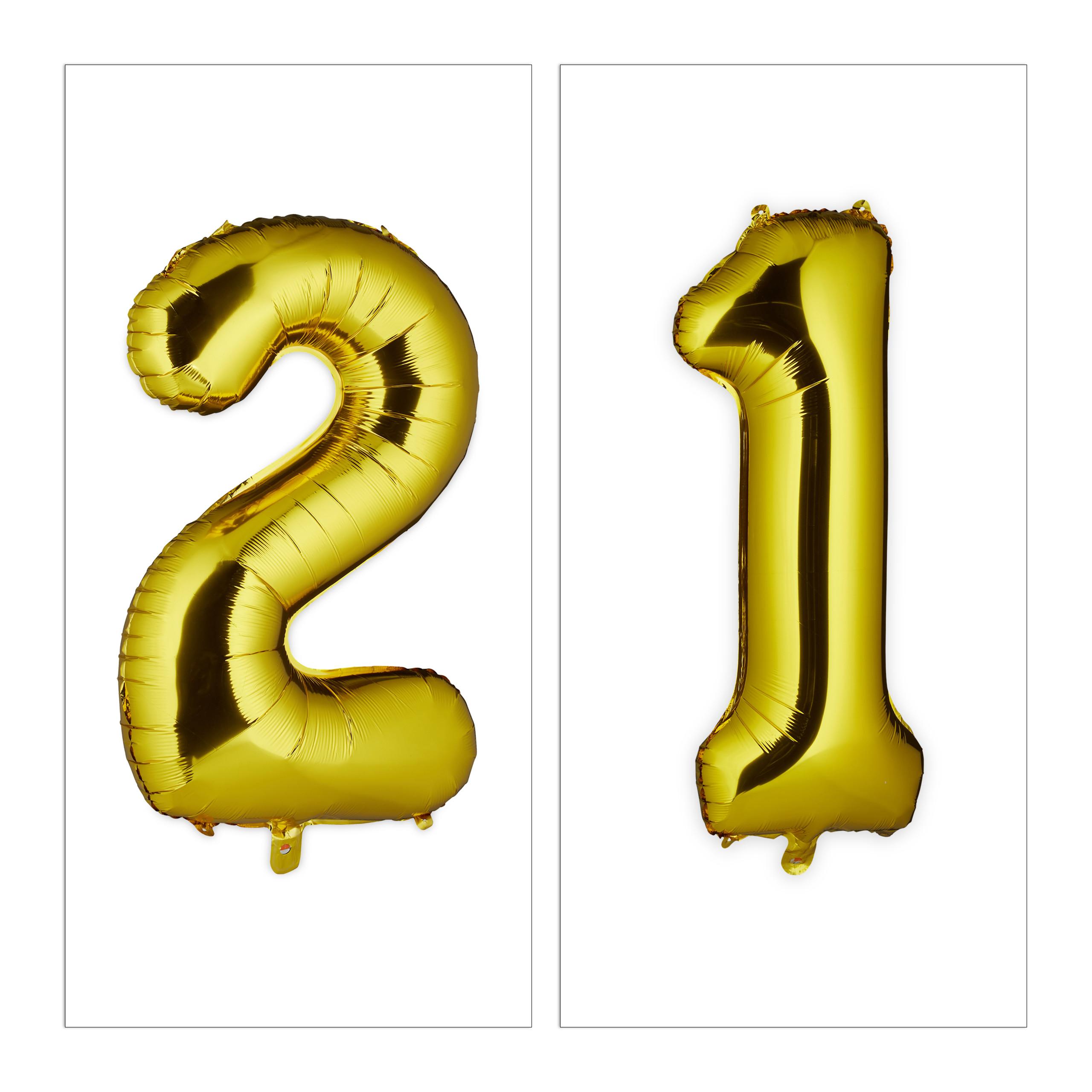 Ballon-chiffre-numero-21-gonflable-anniversaire-decoration-geant-mariage miniature 8