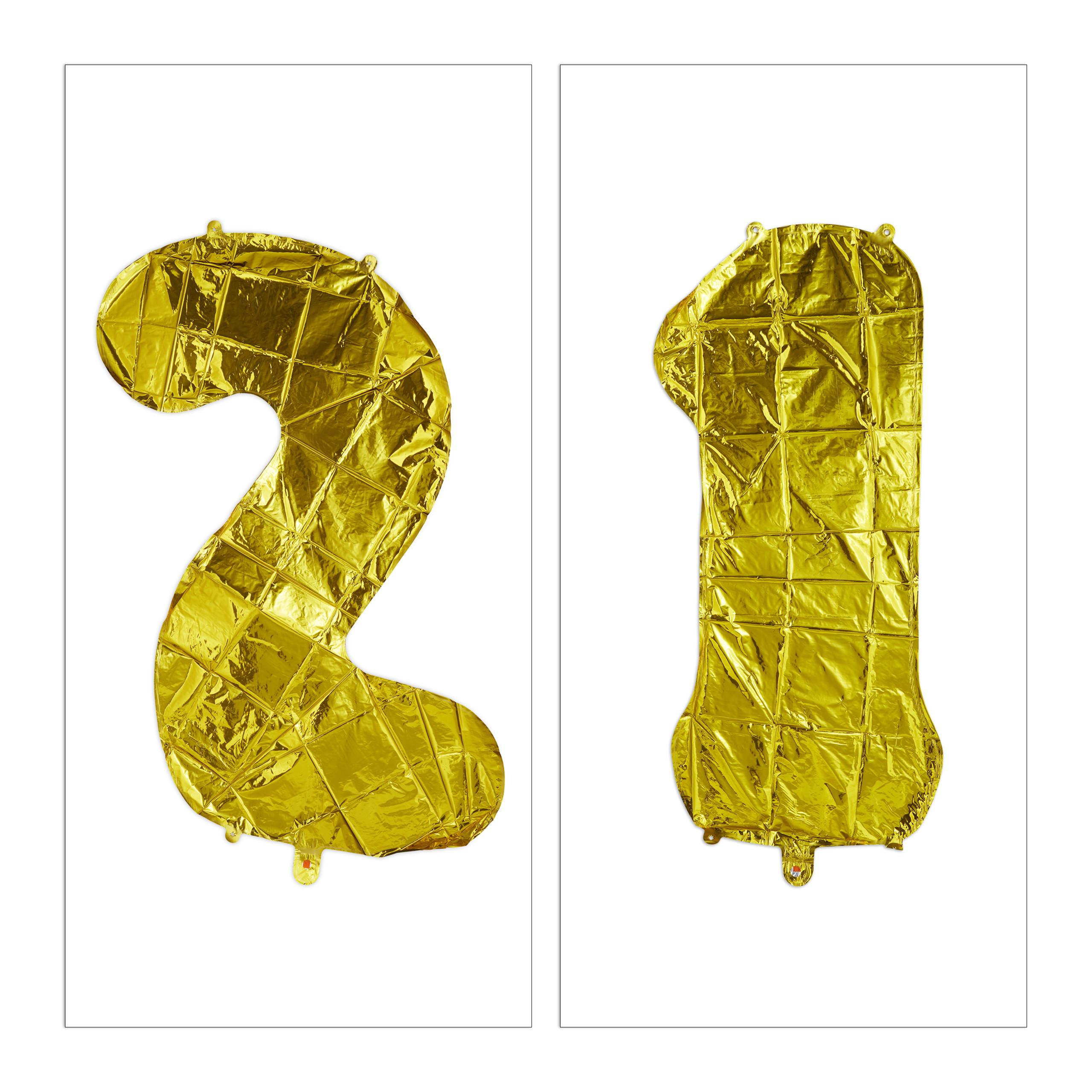 Ballon-chiffre-numero-21-gonflable-anniversaire-decoration-geant-mariage miniature 9