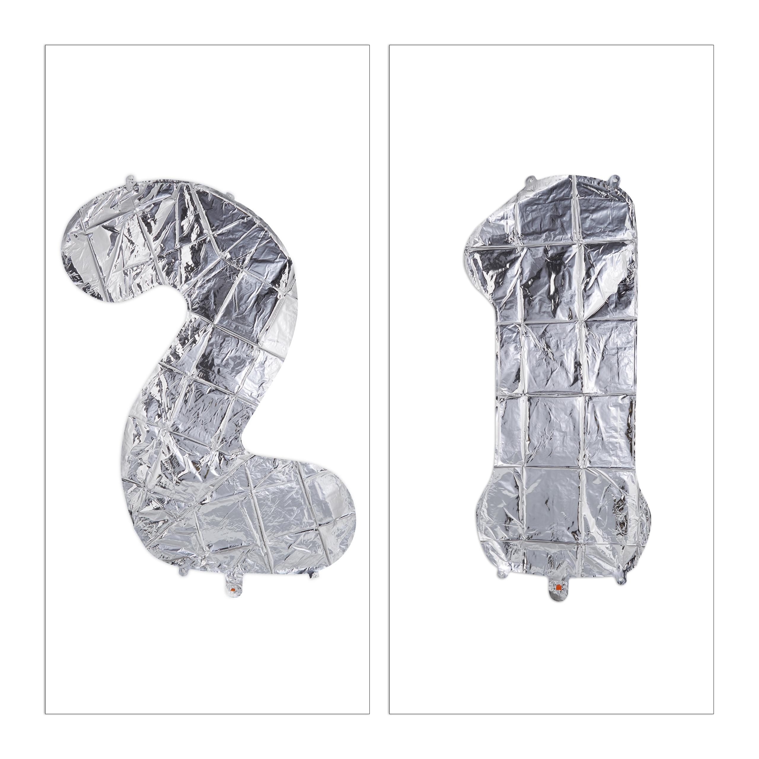 Ballon-chiffre-numero-21-gonflable-anniversaire-decoration-geant-mariage miniature 4