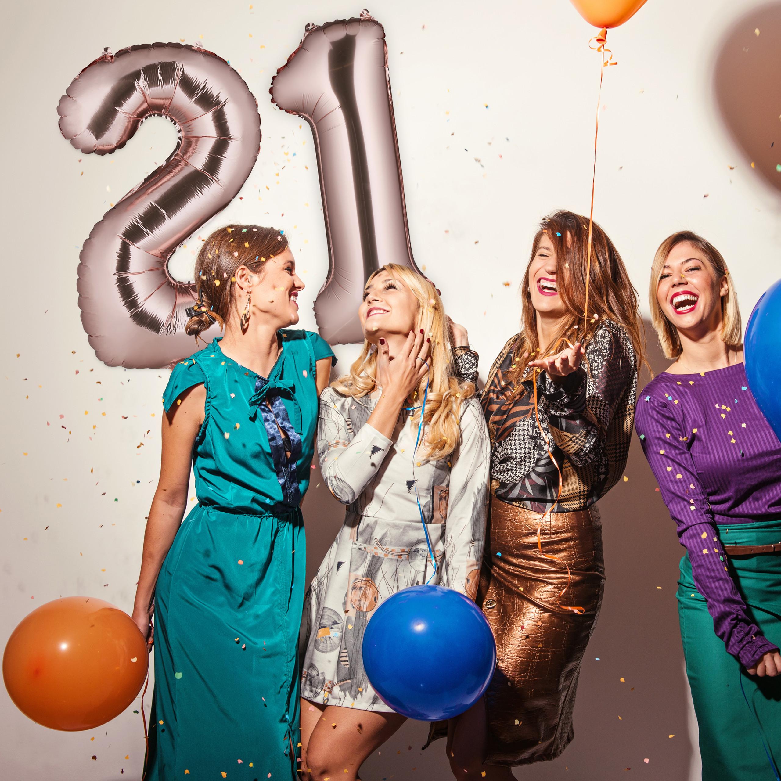 Ballon-chiffre-numero-21-gonflable-anniversaire-decoration-geant-mariage miniature 5