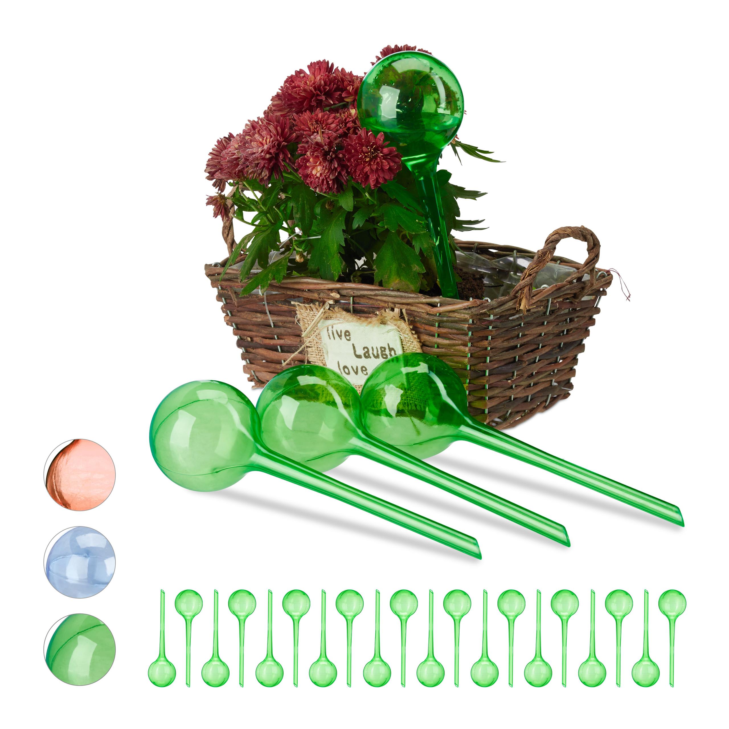 24 x bew sserungskugeln gr n wasserspender f r pflanzen for Wasserspender fur pflanzen