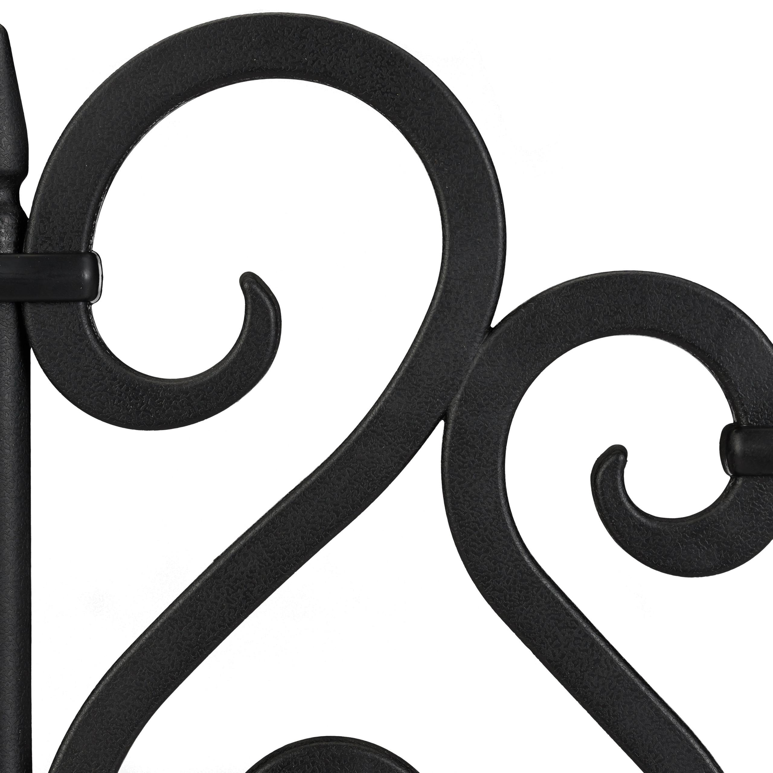 Valla-jardin-Borde-cesped-Bordillo-limitador-jardin-Set-4-separadores-cesped miniatura 16
