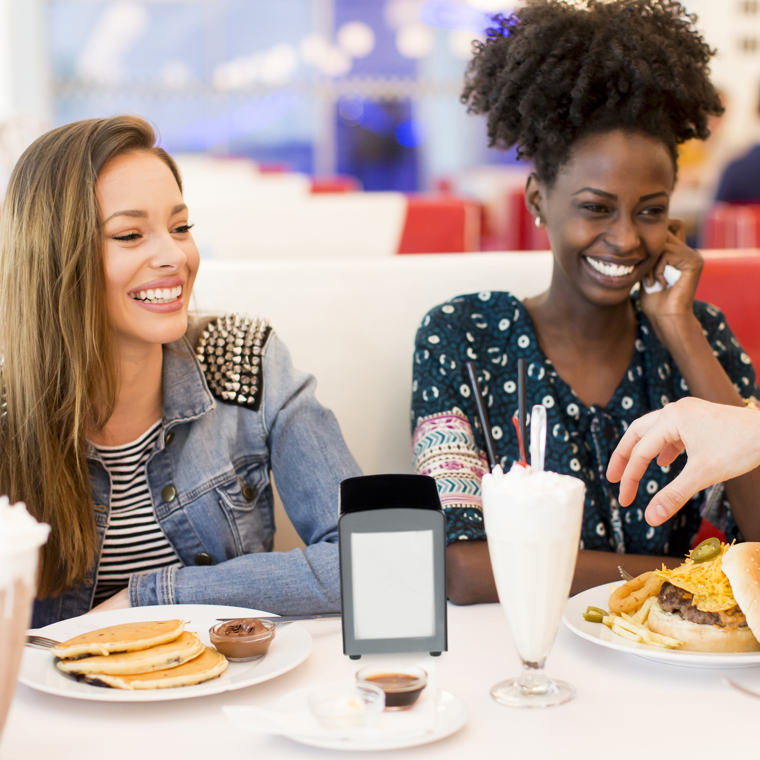 Napkin-Dispenser-Retro-American-Diner-Serviette-Holder-Restaurant thumbnail 7