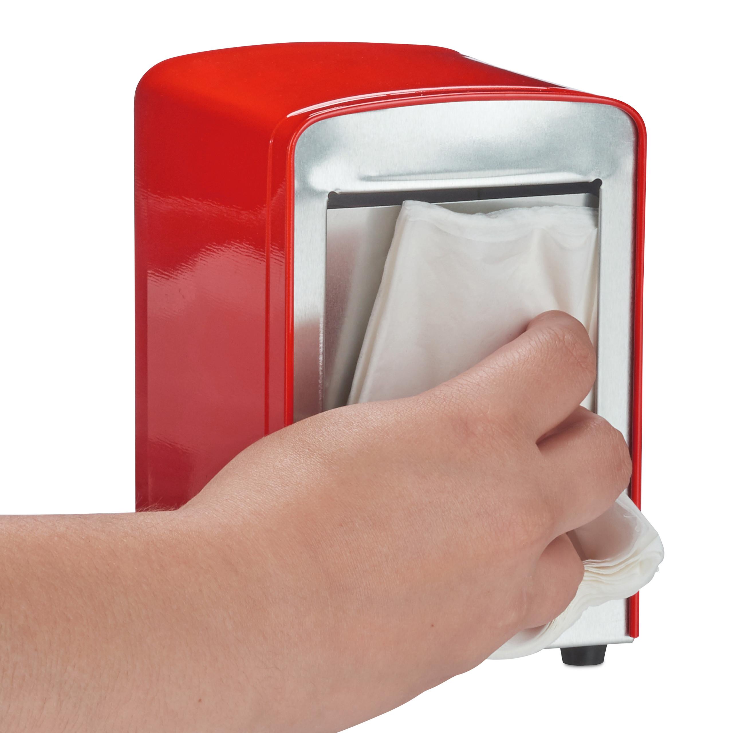 Napkin-Dispenser-Retro-American-Diner-Serviette-Holder-Restaurant thumbnail 8