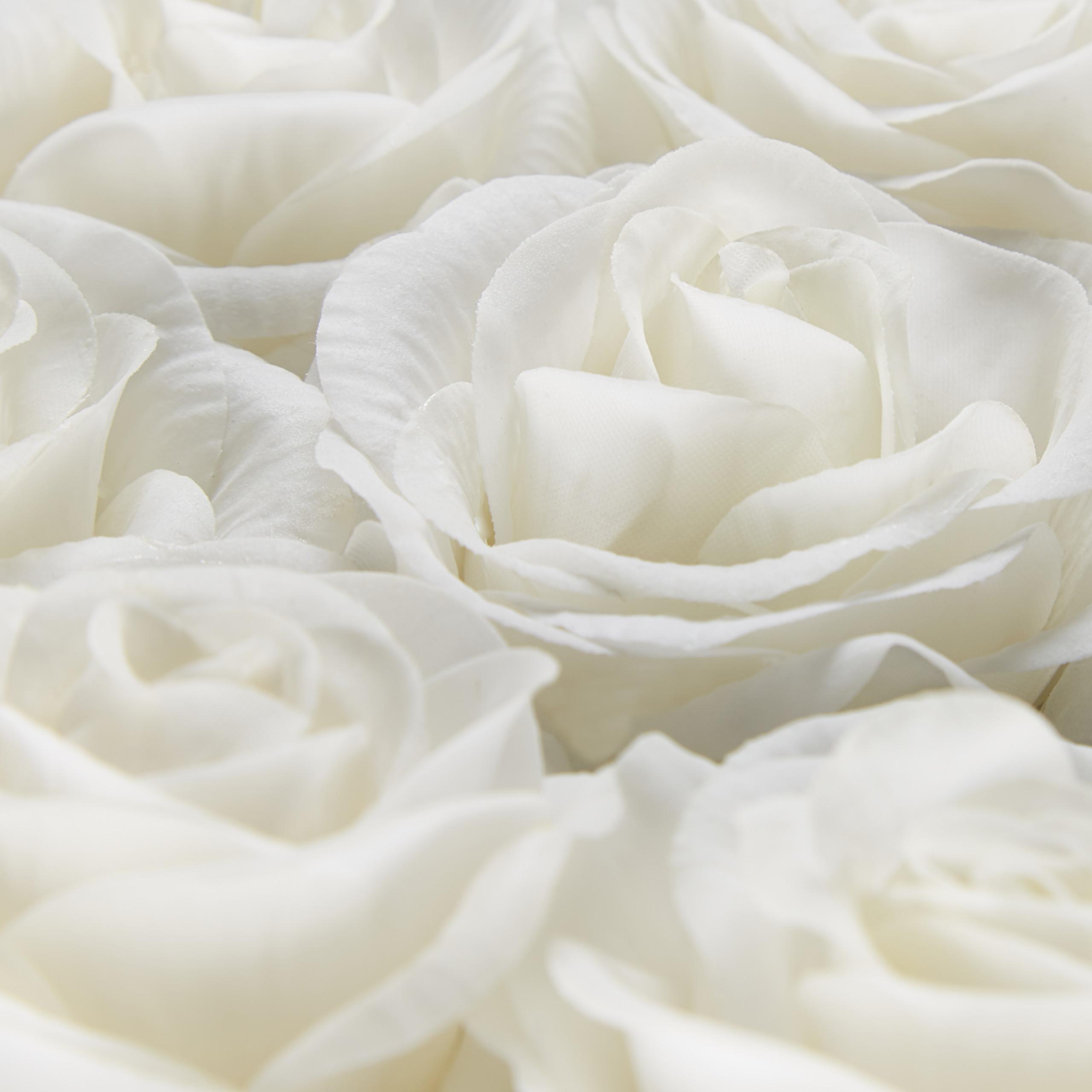 Rosenbox-Flowerbox-49-Kunstblumen-Valentinstag-Blumenbox-Deko-Ewige-Rosen-eckig Indexbild 24