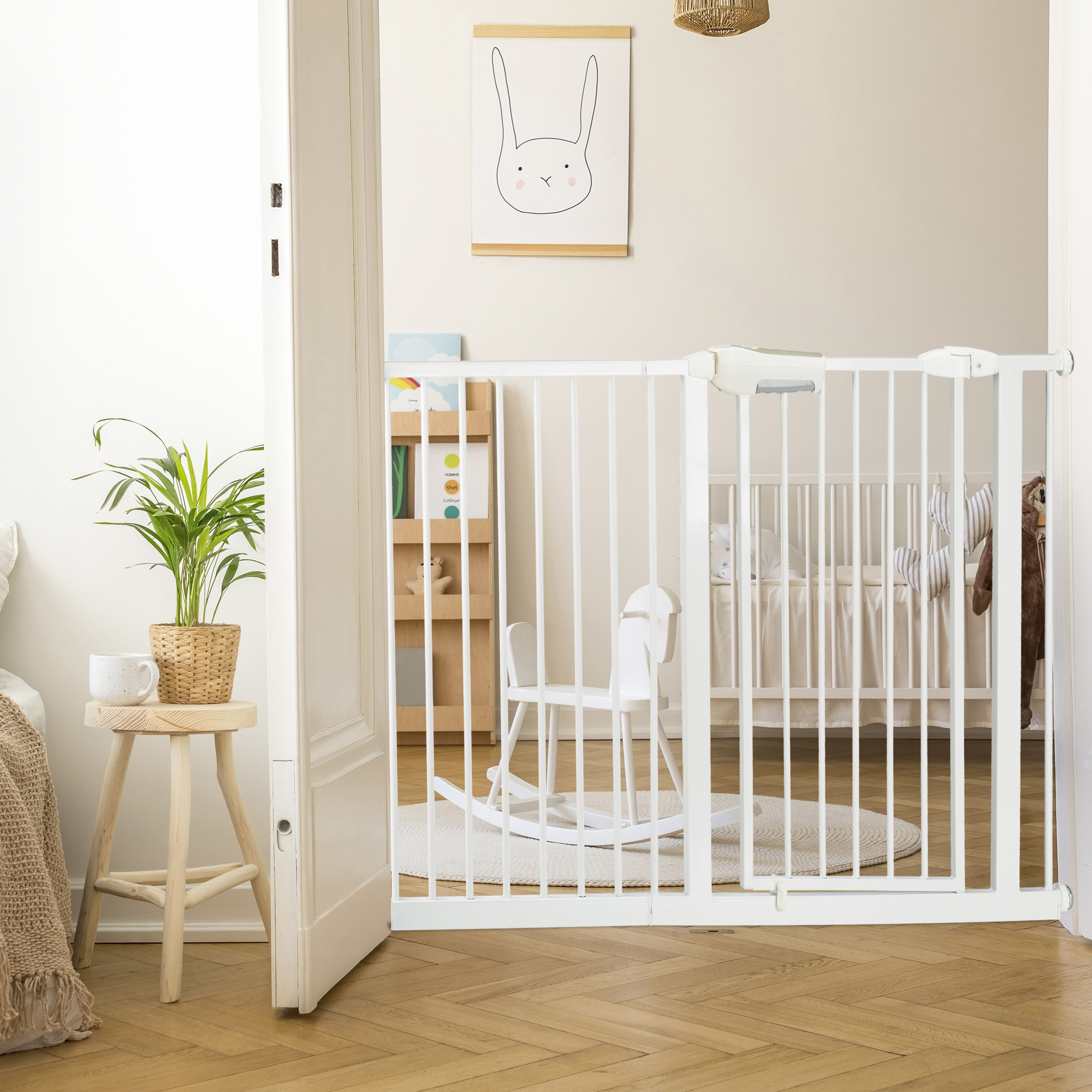 Pressure-Fit-Baby-Safety-Gate-Extension-Security-Barrier-for-Stairs-and-Doors thumbnail 13