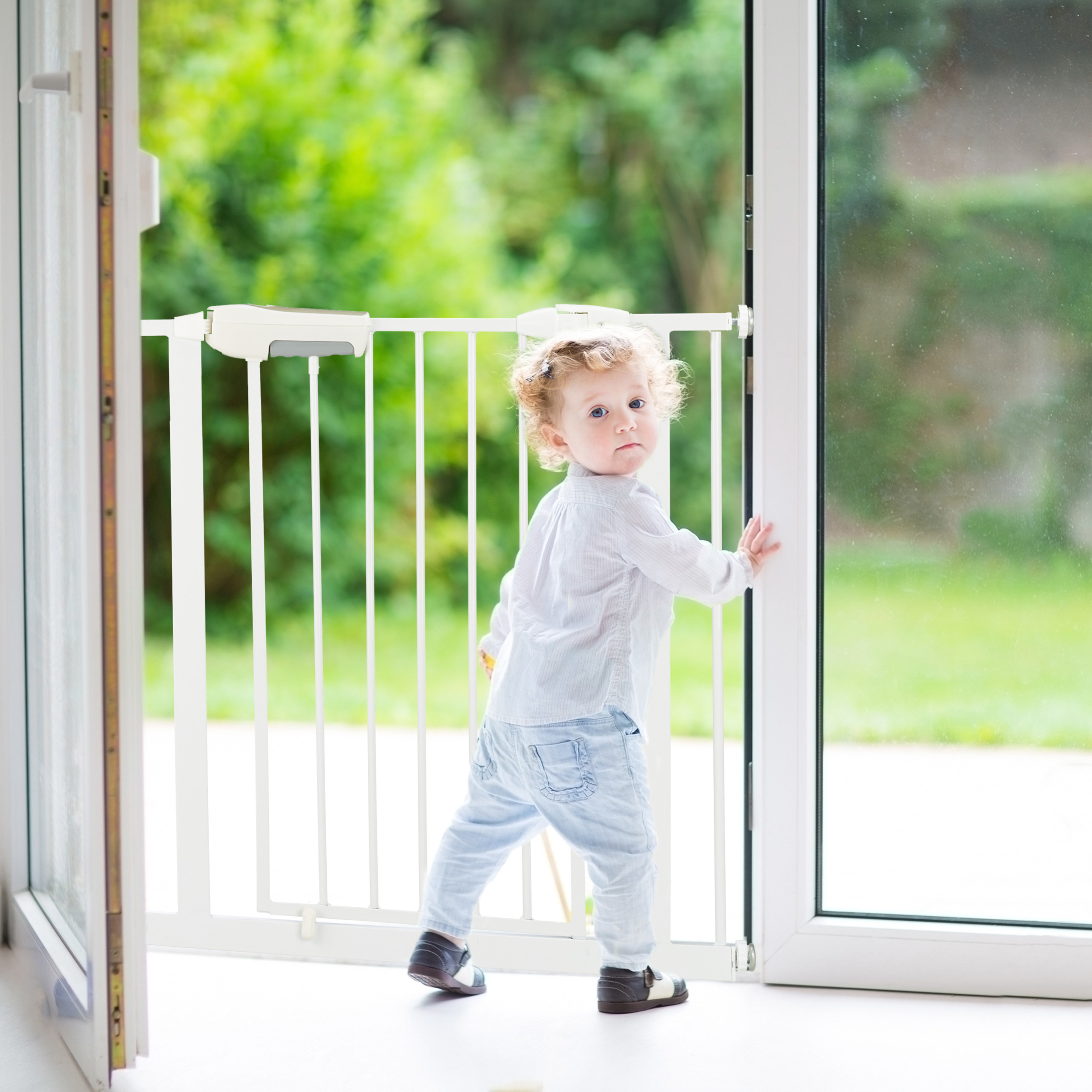 Pressure-Fit-Baby-Safety-Gate-Extension-Security-Barrier-for-Stairs-and-Doors thumbnail 25