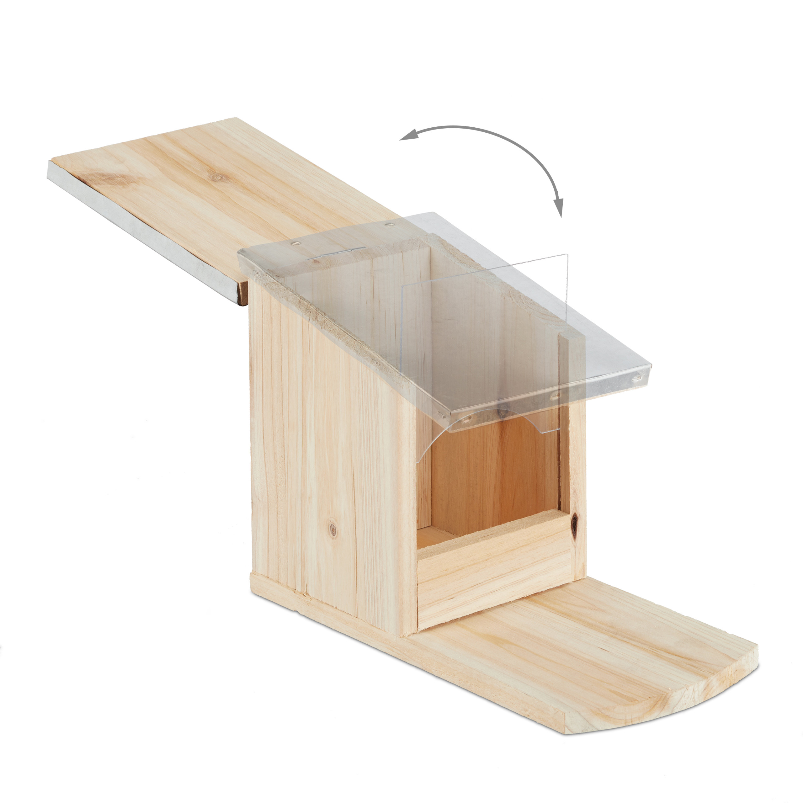 eekhoorn-voederhuisje-metalen-dak-hout-voederhuis-voederkast miniatuur 7