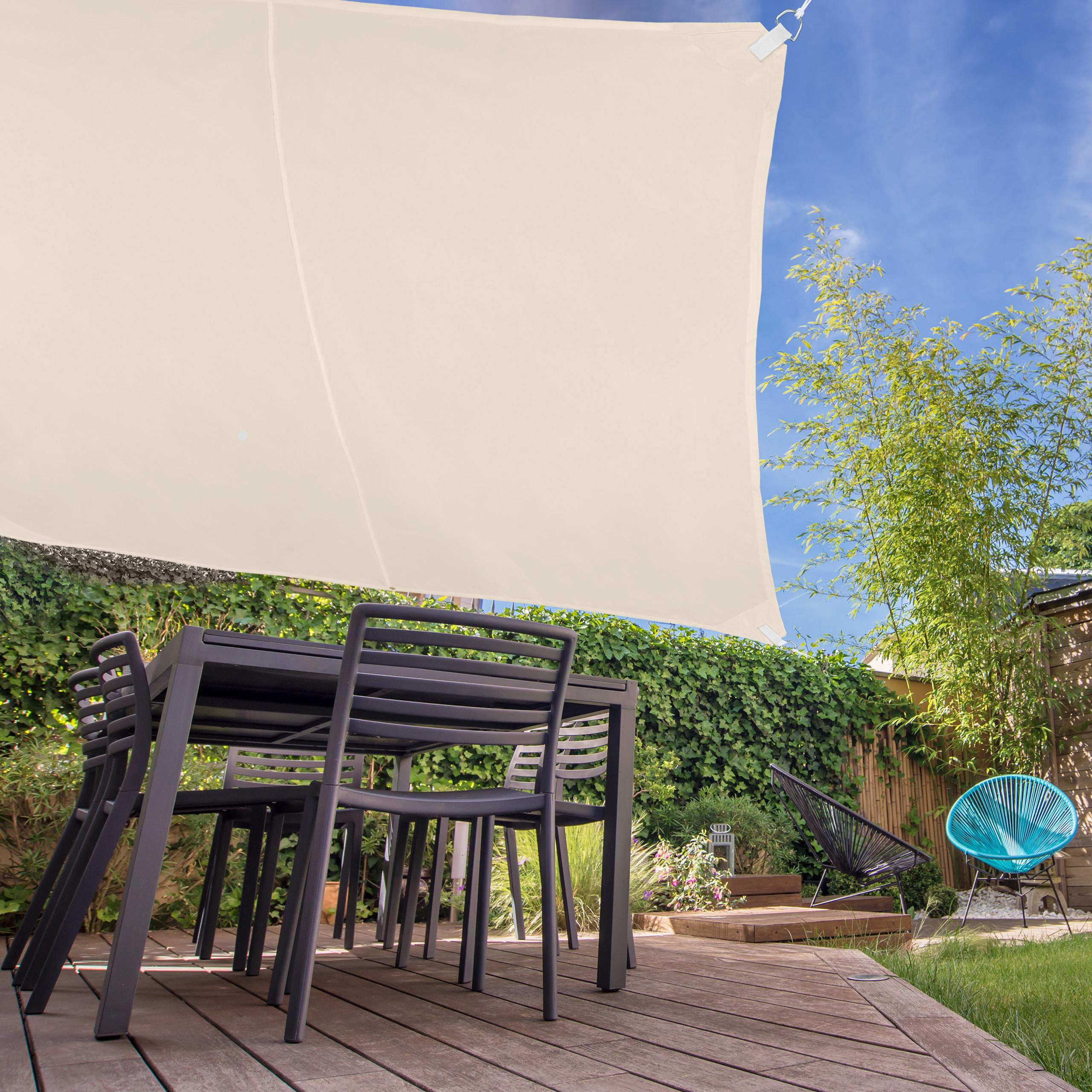 voile d ombrage carr diffuseur d ombre protection soleil. Black Bedroom Furniture Sets. Home Design Ideas