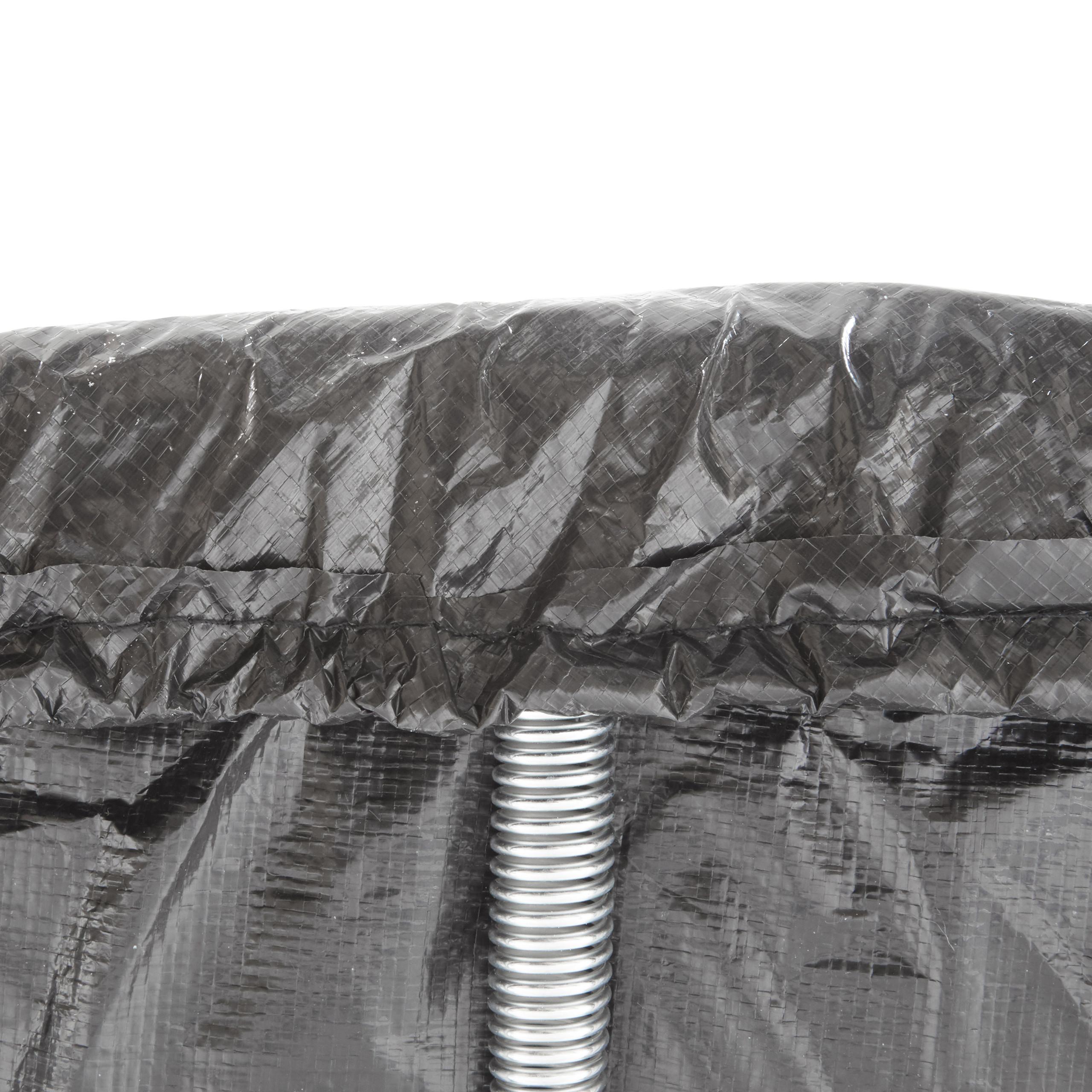 Housse-de-Protection-pour-Trampoline-Bache-pluie-vent-jardin-intemperies miniature 8