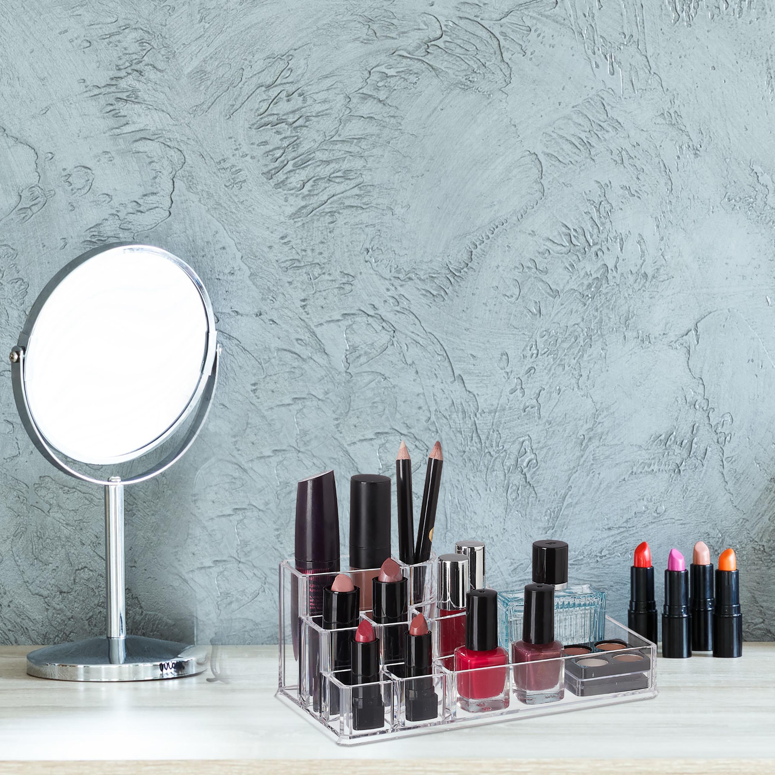 make-up-organizer-acryl-8-vakken-lippenstifthouder-opbergsysteem miniatuur 4
