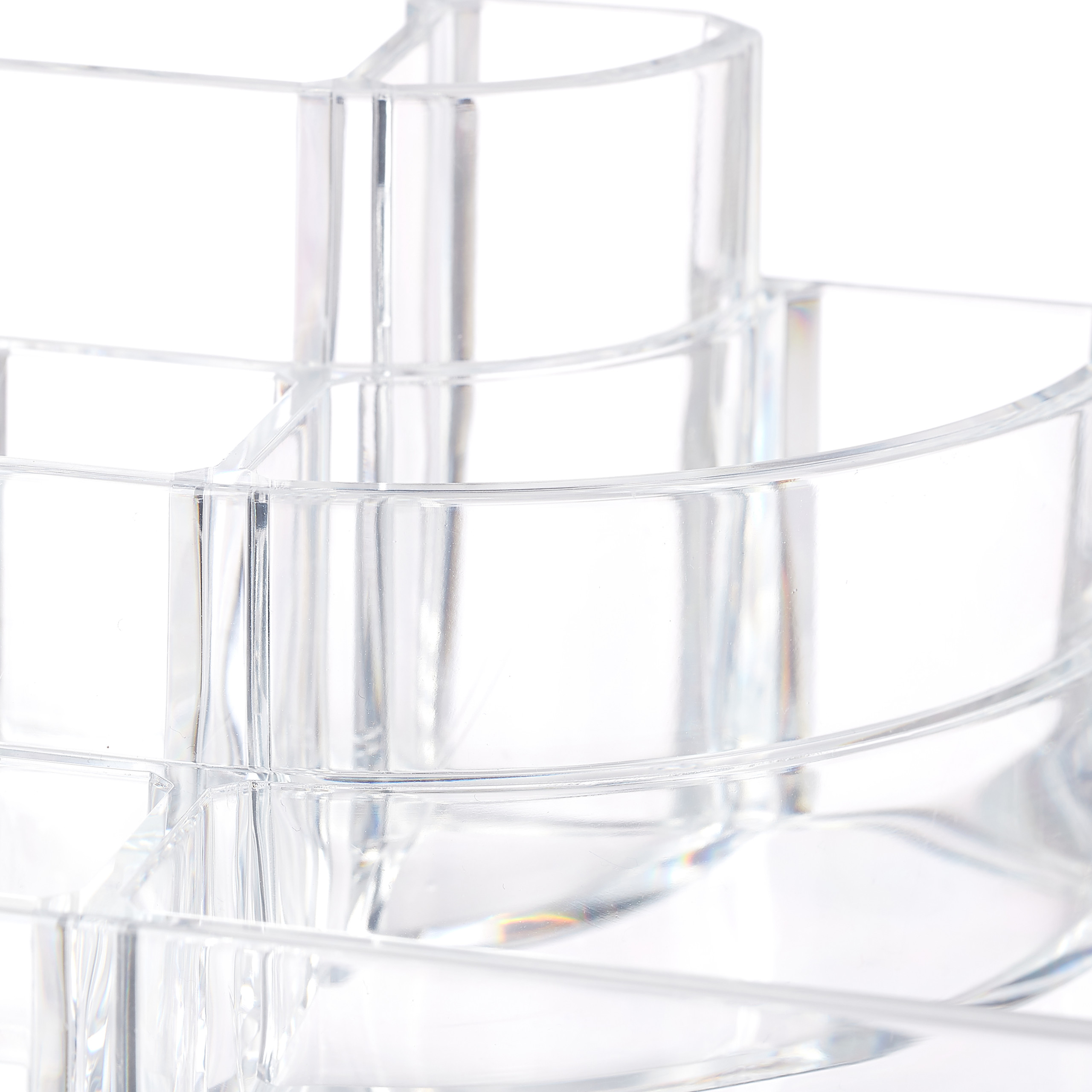 make-up-organizer-acryl-8-vakken-lippenstifthouder-opbergsysteem miniatuur 11