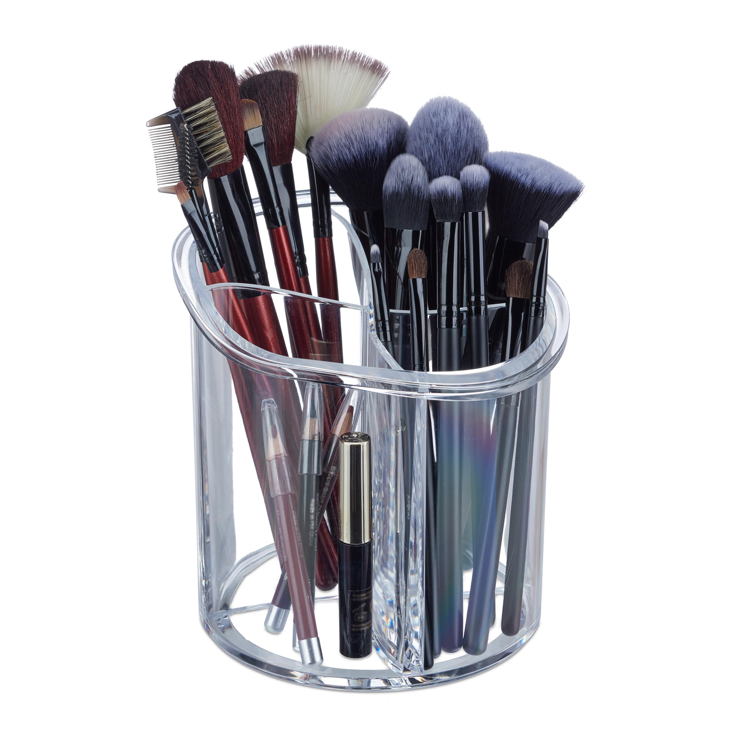 make-up-organizer-kwastenhouder-kwasten-acryl-organizer-rond miniatuur 10