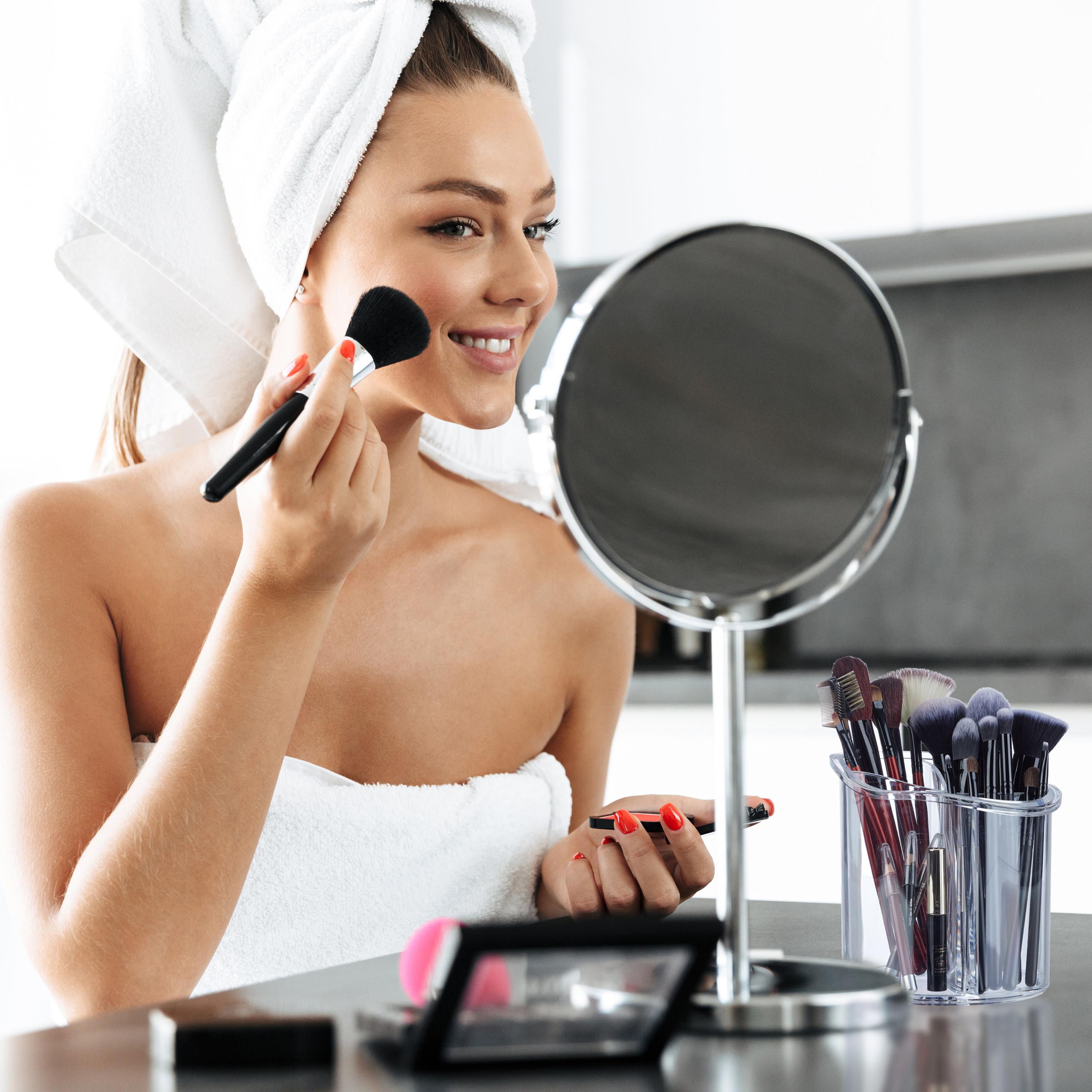 make-up-organizer-kwastenhouder-kwasten-acryl-organizer-rond miniatuur 11