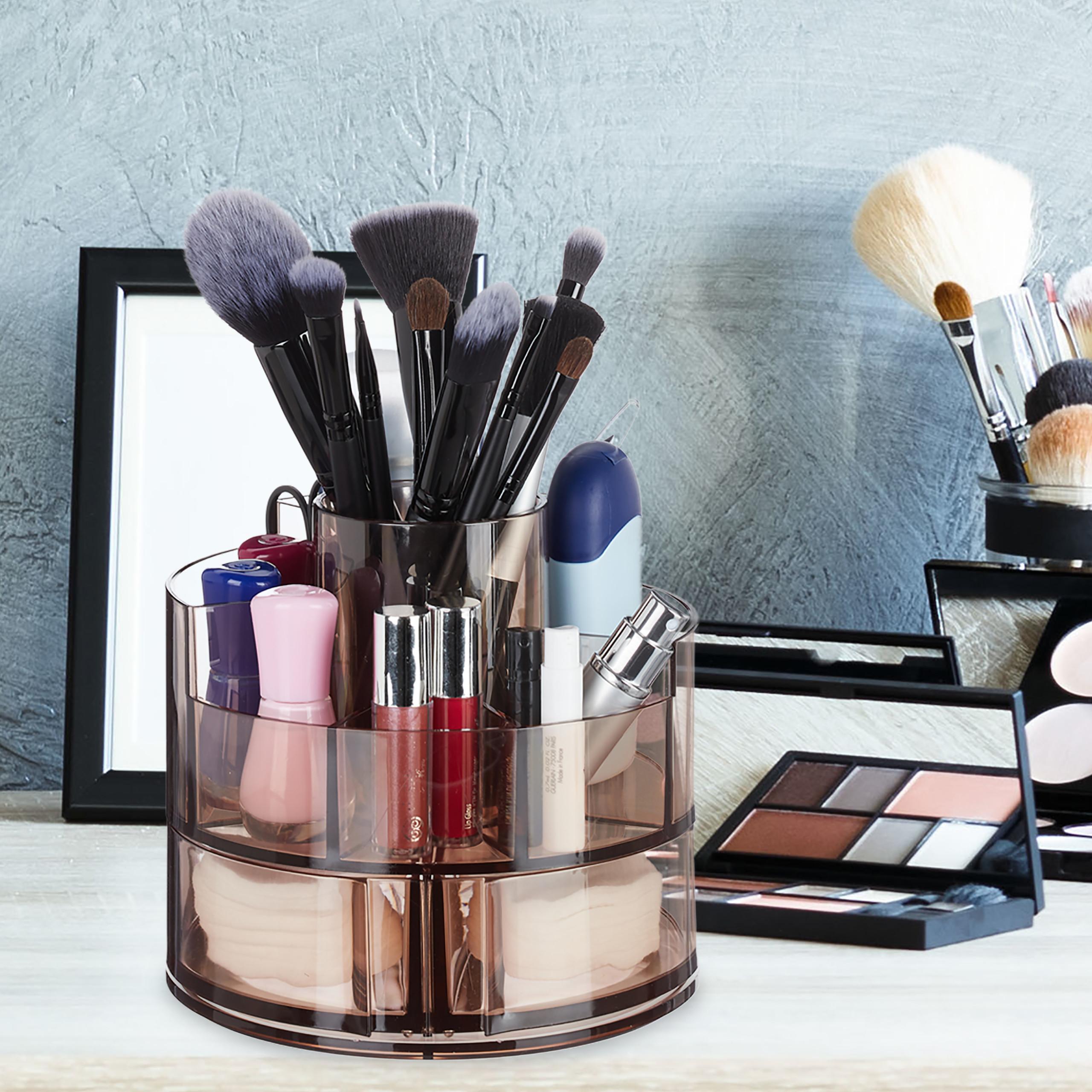 make-up-organizer-acryl-rond-cosmetica-opbergen-opbergsysteem miniatuur 5