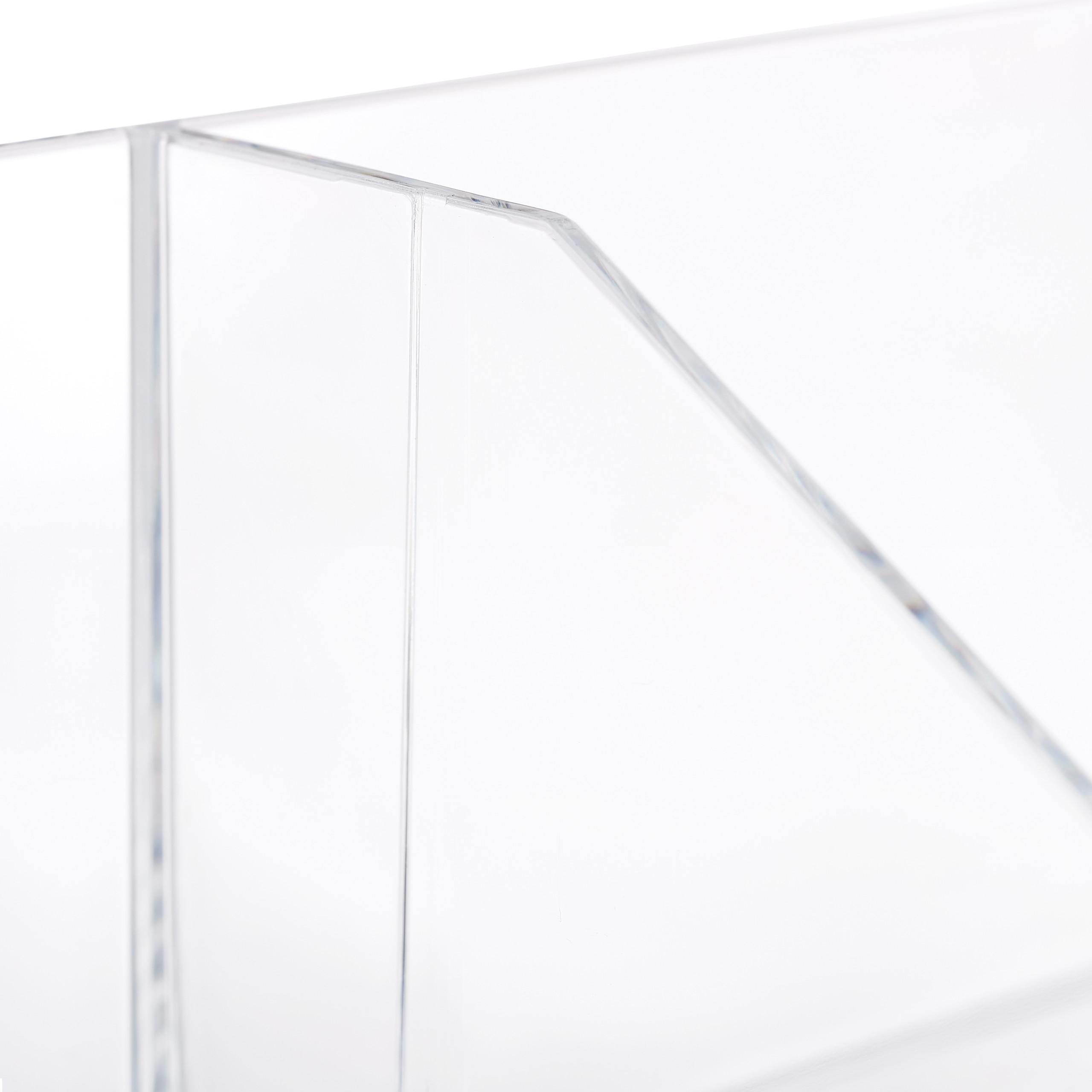 make-up-organizer-cosmetica-organizer-acryl-2-vakken-badkamer-opbergen miniatuur 8