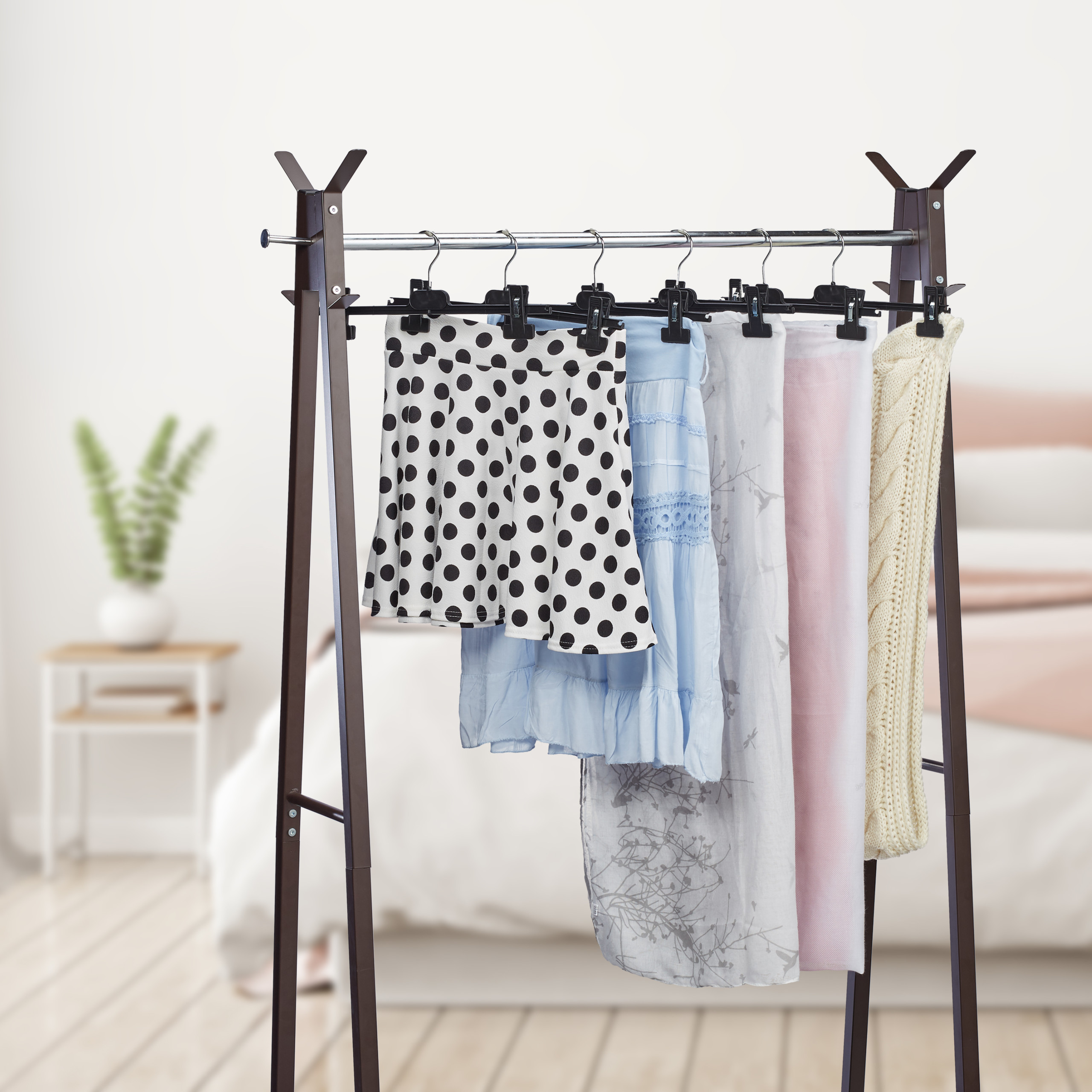 Wäsche Haken Wäscheklammern Hänge Clips Kunststoff Kleiderbügel Deko New Su