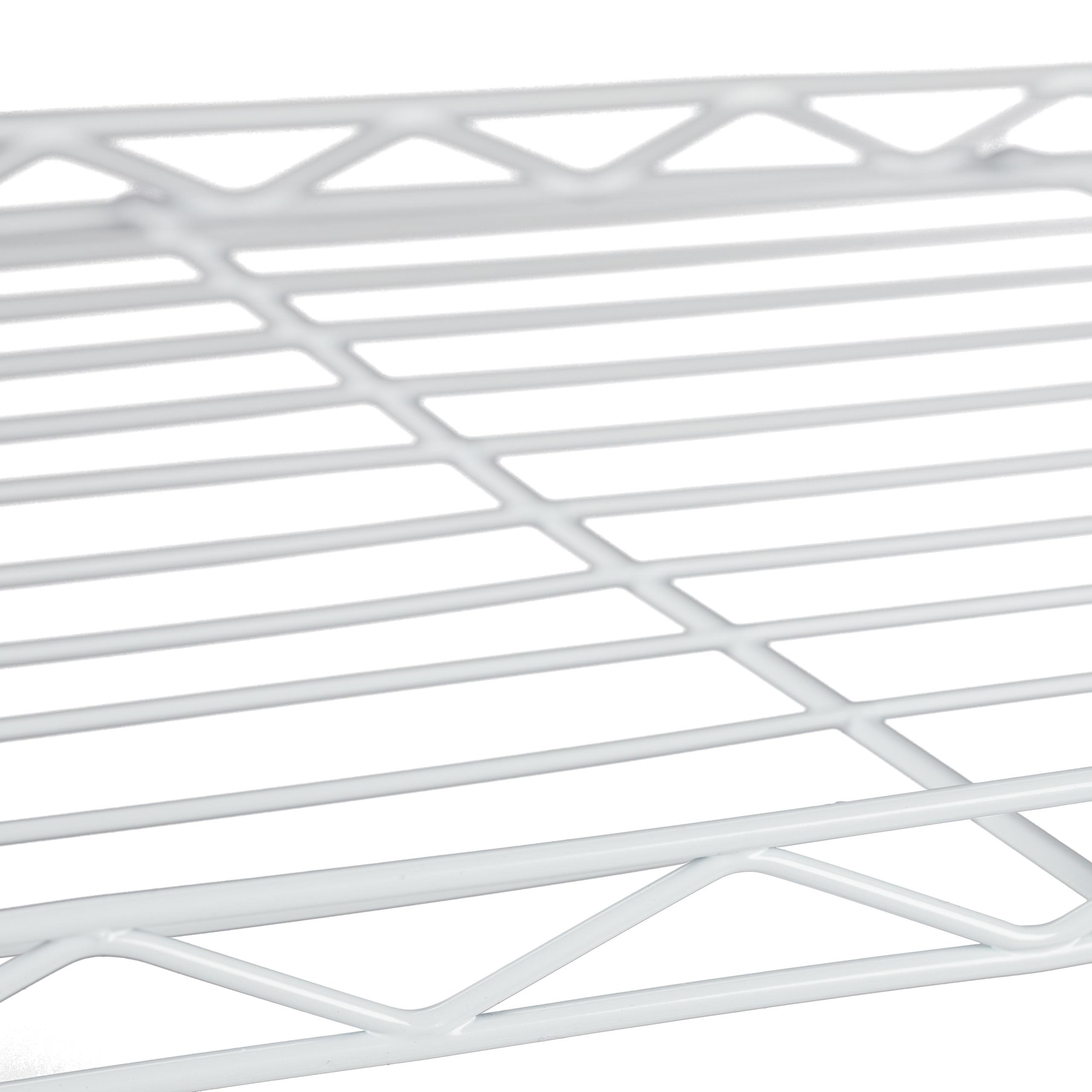 Metal Zapatero Blanco 121 x 56 x 35 cm Despensa o Ba/ño Relaxdays Estanter/ía Met/álica para Cocina Uso Universal