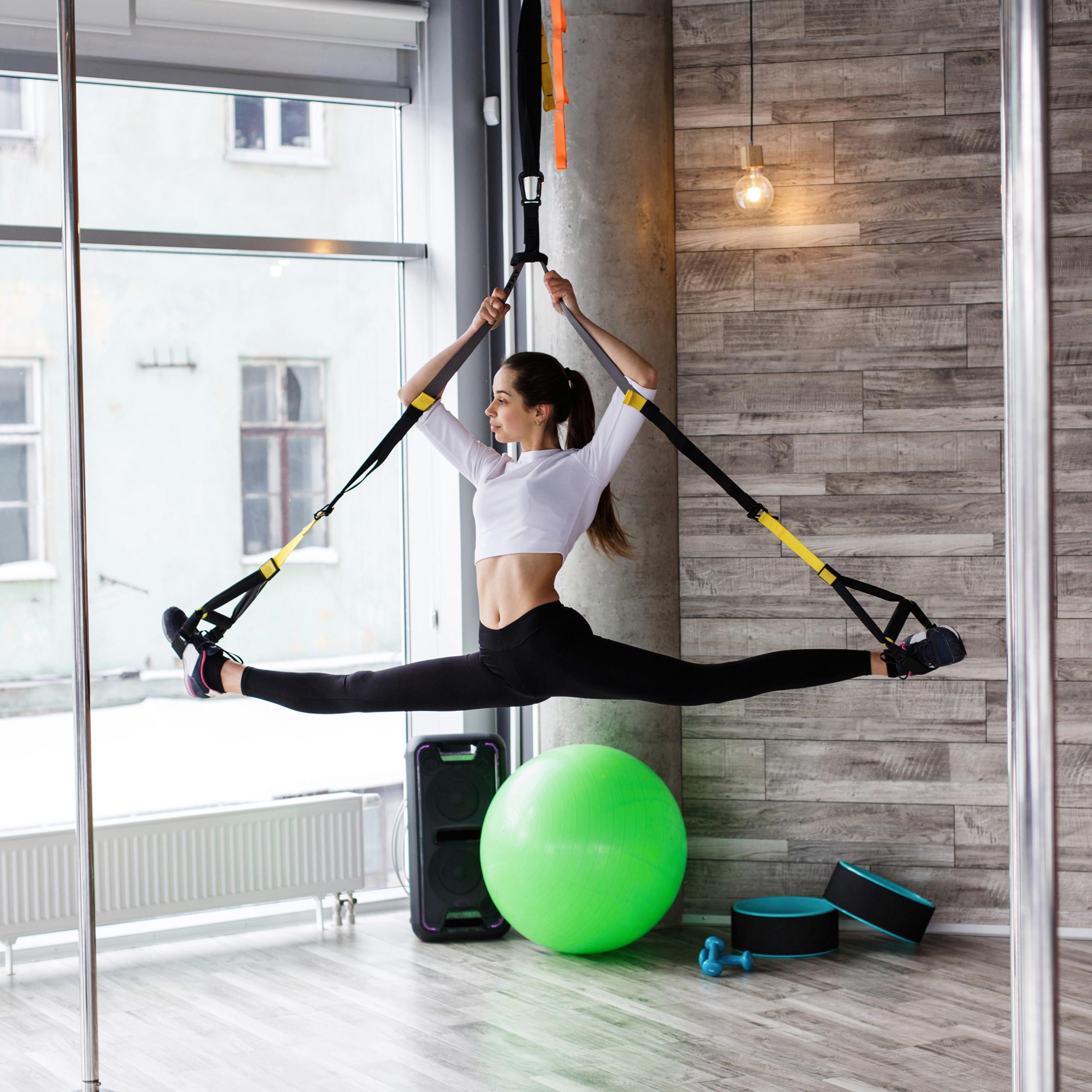 Exercise-Ball-75-cm-PVC-Yoga-Ball-Office-Seat-Gym-Ball-Pilates thumbnail 13