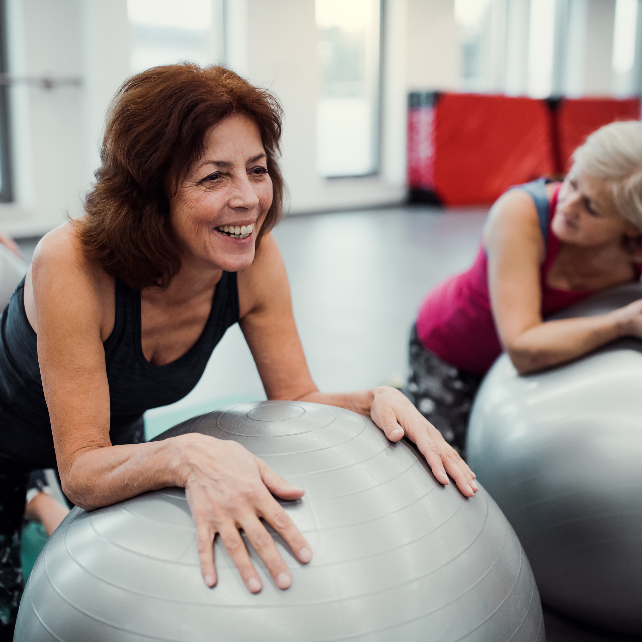 Exercise-Ball-75-cm-PVC-Yoga-Ball-Office-Seat-Gym-Ball-Pilates thumbnail 23