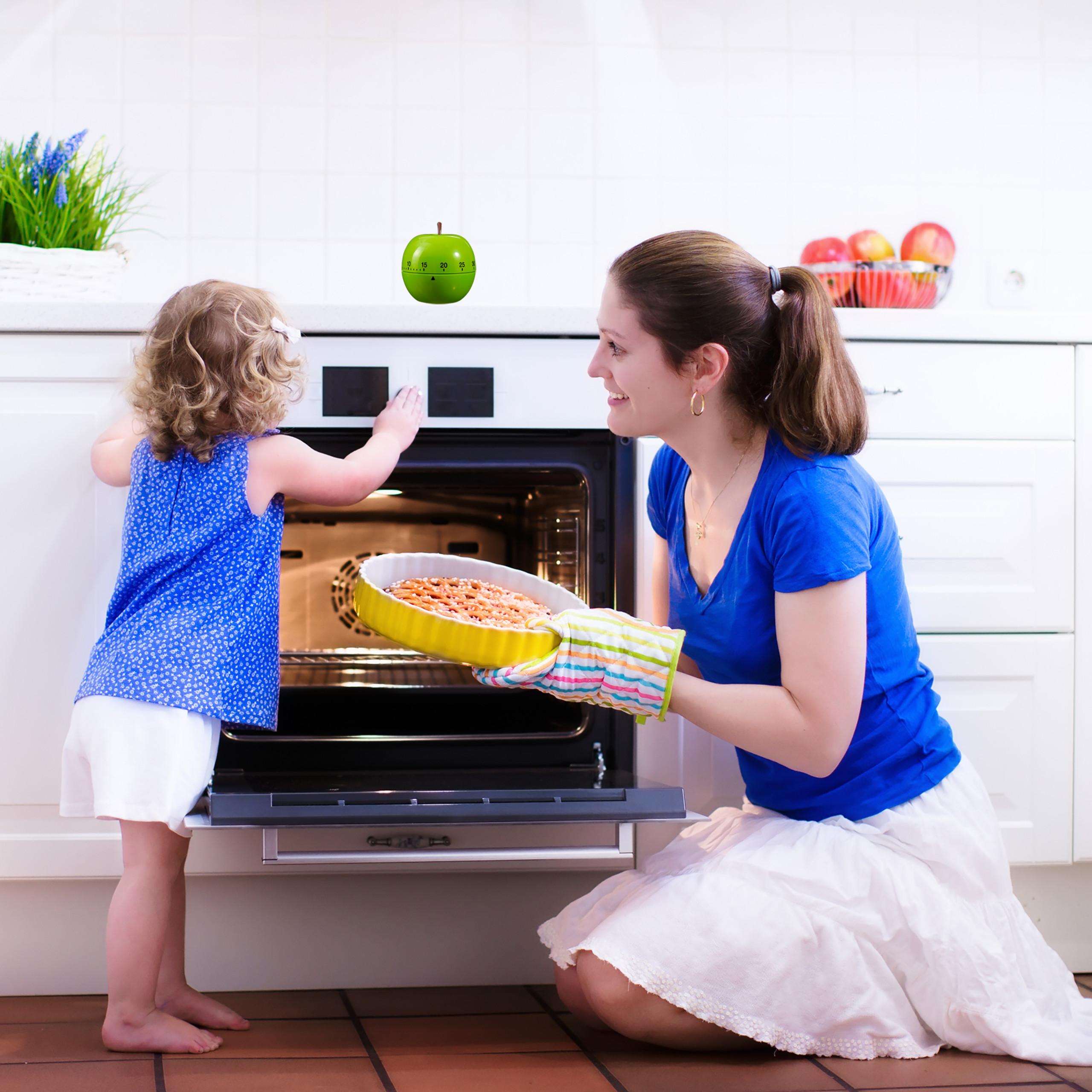 kookwekker-grappig-eierwekker-appel-kook-wekker-keuken-wekker-timer miniatuur 4