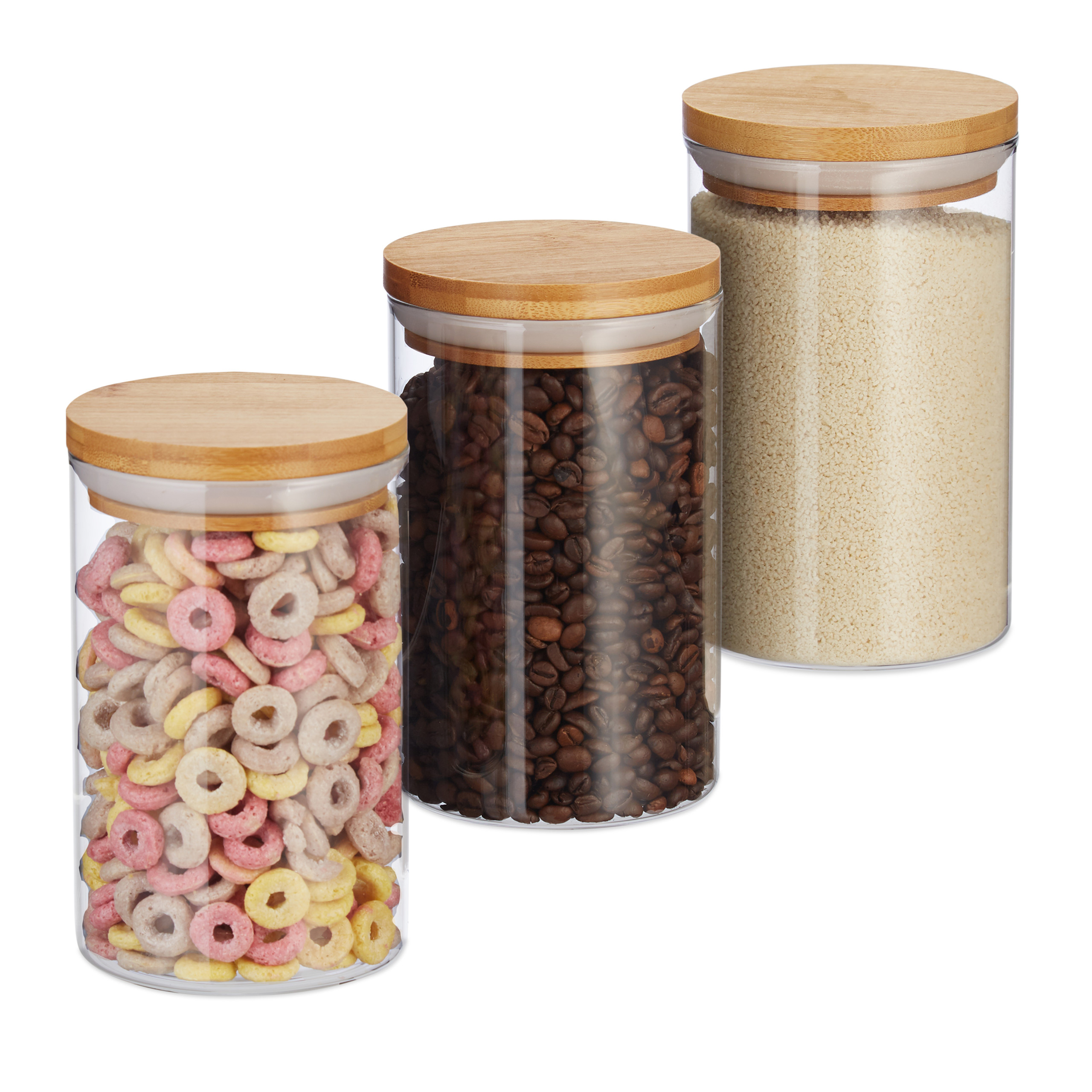 Contenitori Vetro Per Conserve dettagli su barattoli per conserve contenitori in vetro per alimenti müsli  pasta caffè