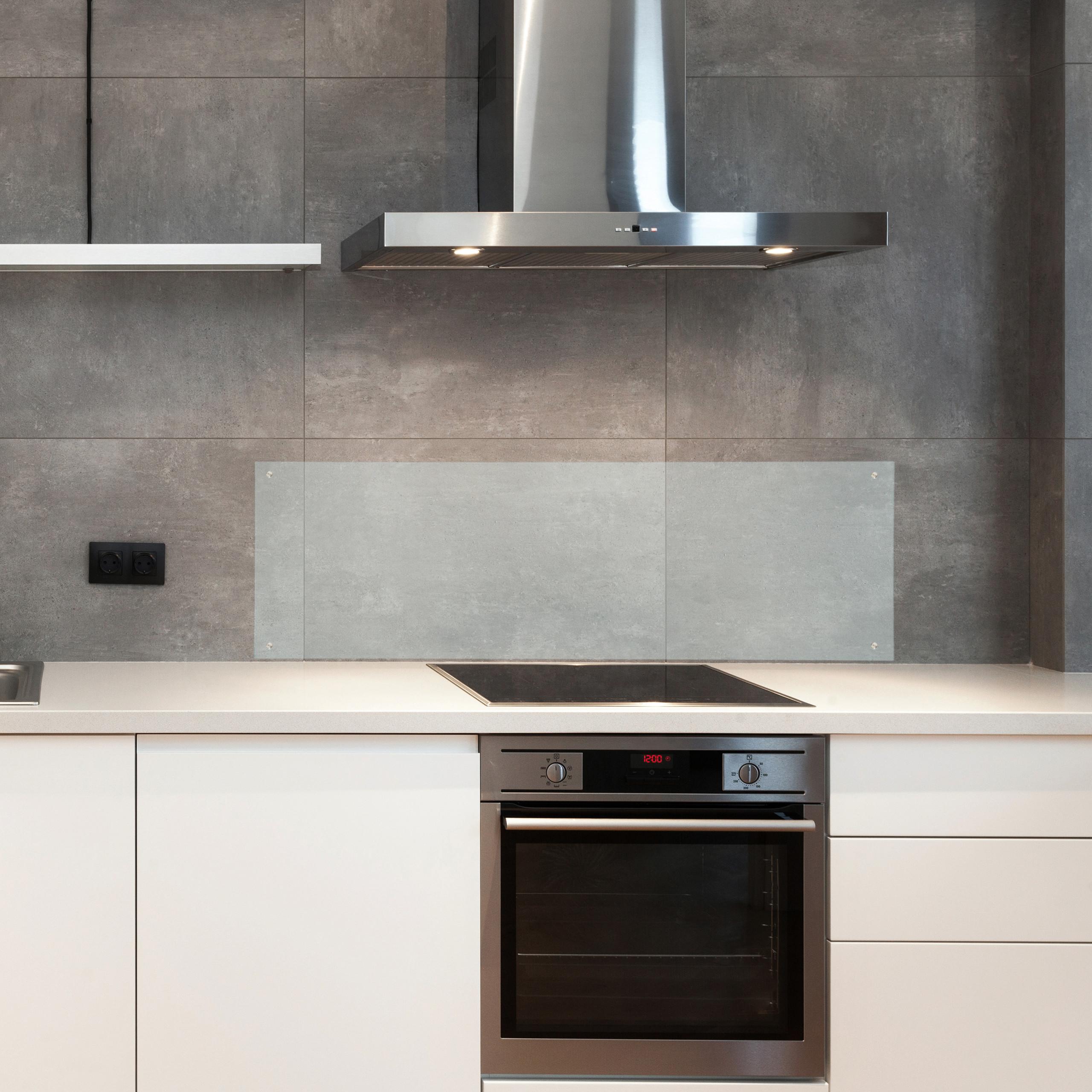 Spritzschutz Küche Glas Fliesenschutz Nischenrückwand Küchenwandschutz 120 cm   eBay