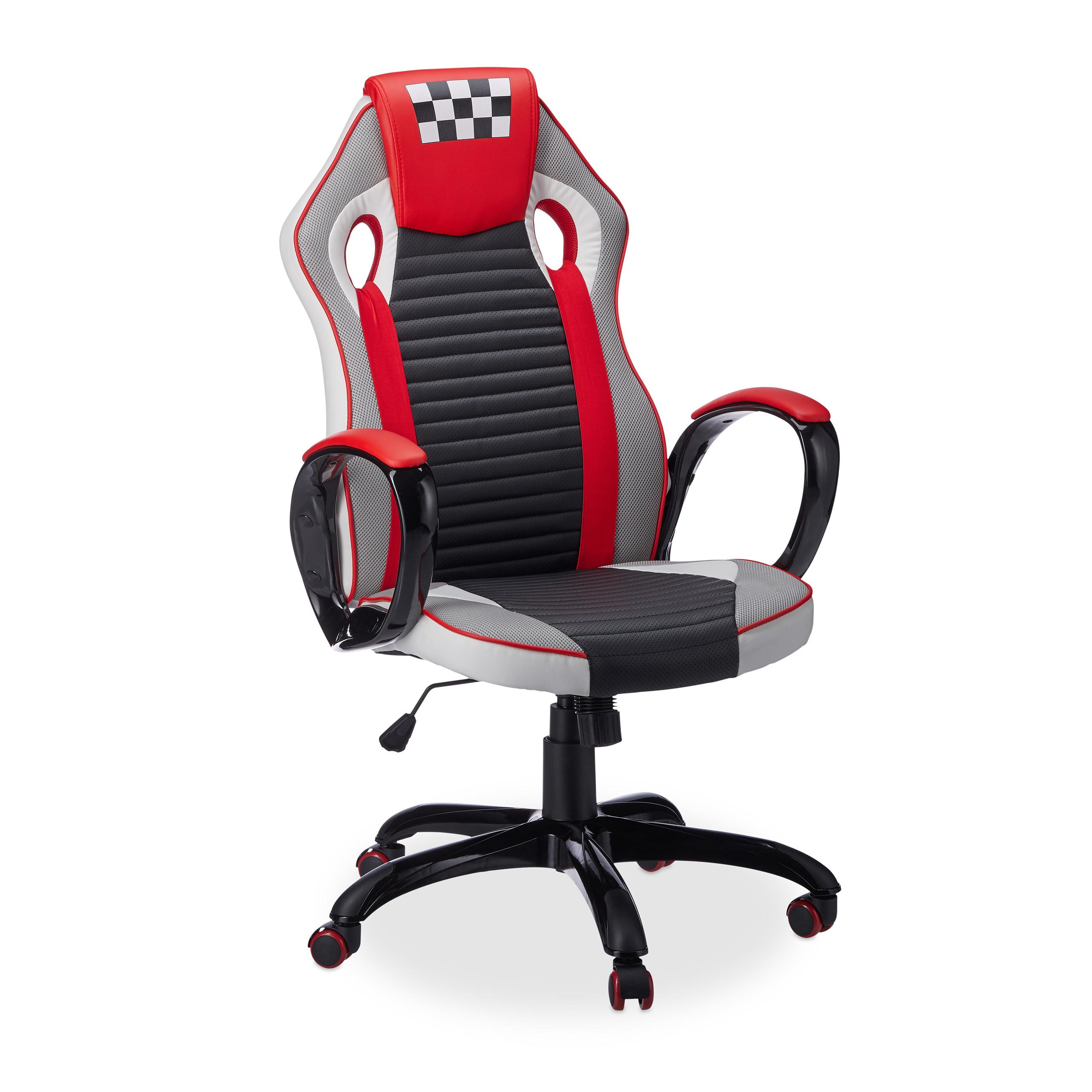 Schreibtischstuhl Sportsitz Bürostuhl Gaming Stuhl XR7 Gamer Chair Drehstuhl