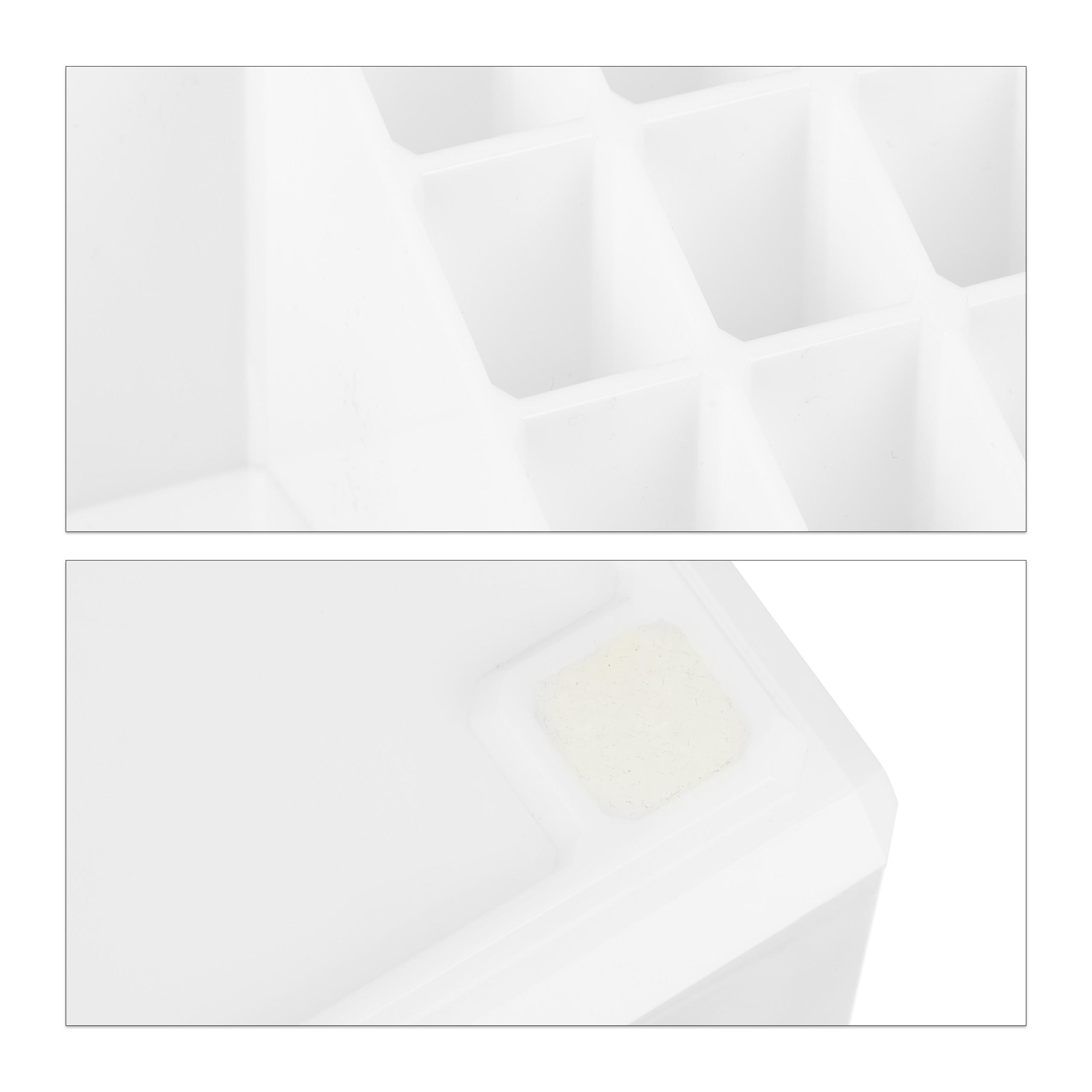 Make-Up-Organizer-klein-Kosmetikbox-stapelbar-Lippenstifthalter-Schmuckkasten miniatura 29