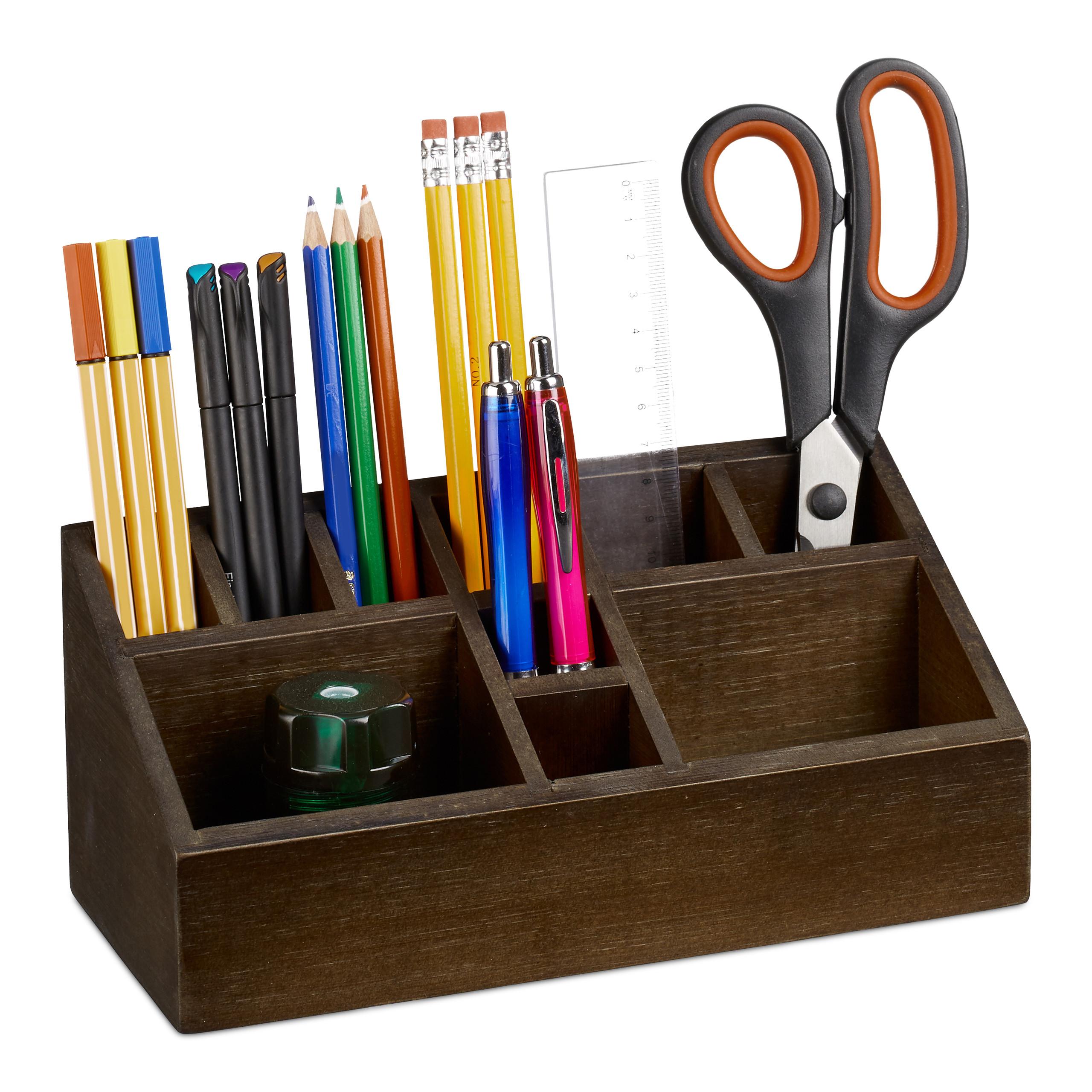 Organizer Schreibtisch Dokumentenablage Schubladen Büro Organizer Stiftehalter