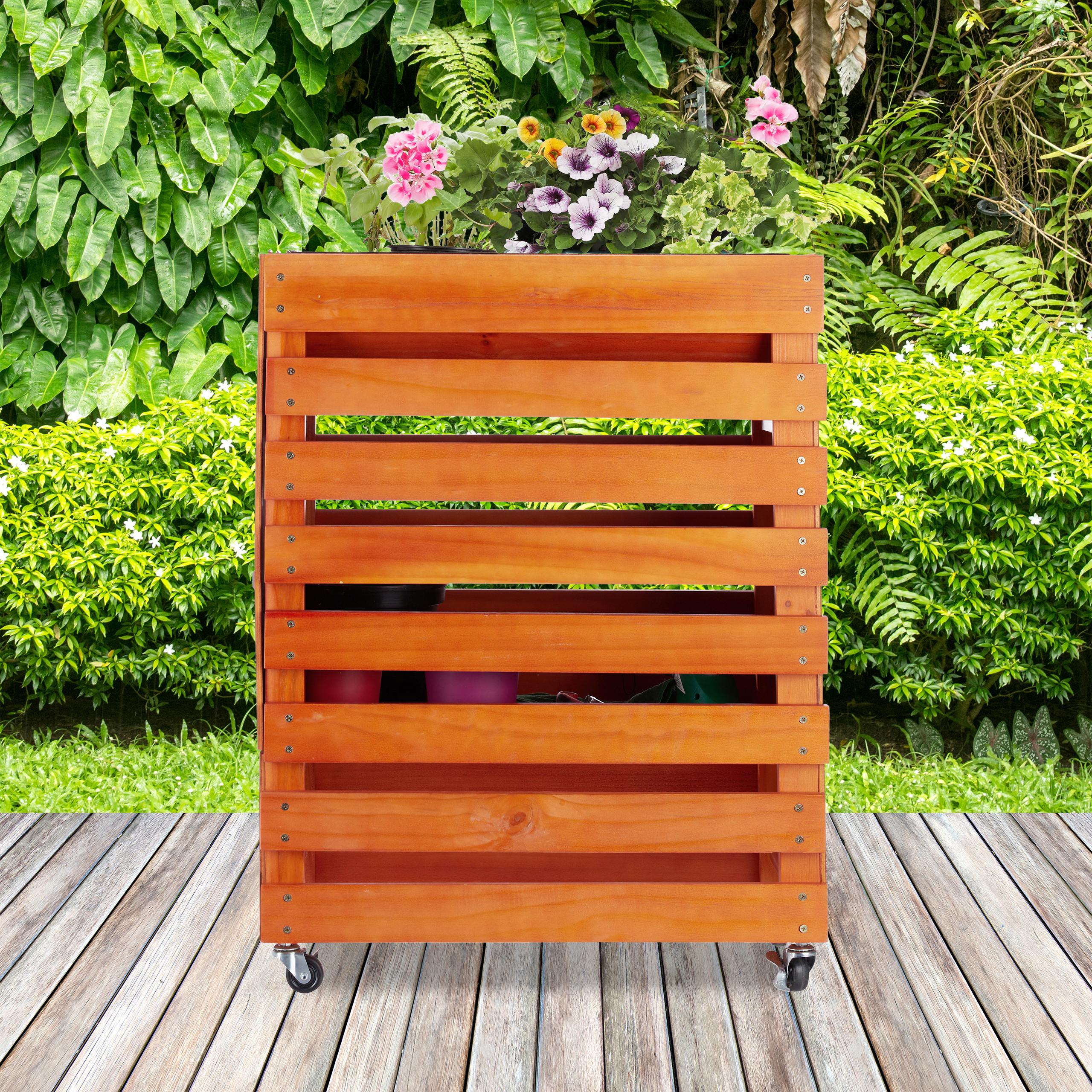 hochbeet holz trog blumenkasten pflanzkasten fr hbeet auf. Black Bedroom Furniture Sets. Home Design Ideas