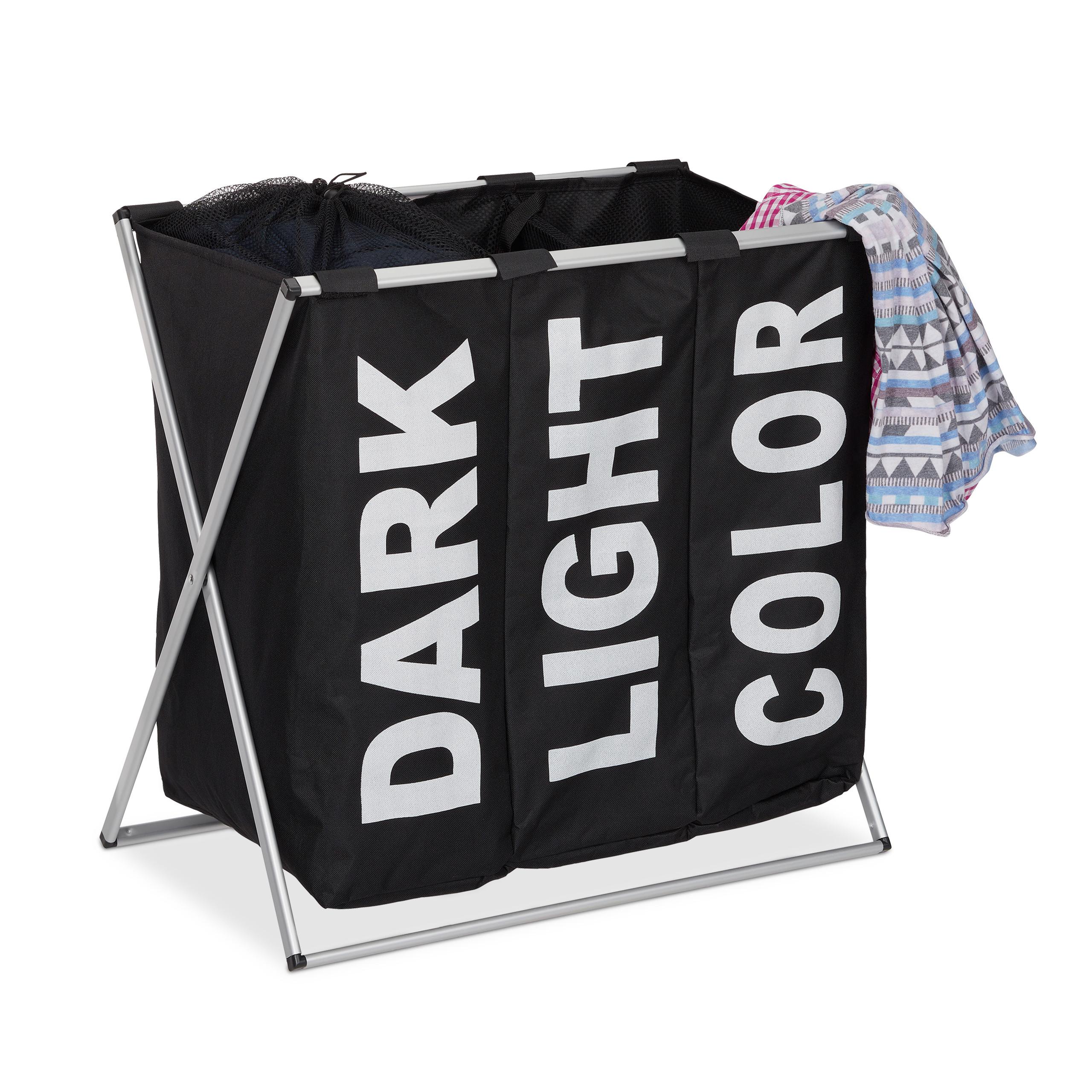 w schesortierer 3 f cher 90l klappgestell w schekorb w schesammler w schekiste. Black Bedroom Furniture Sets. Home Design Ideas