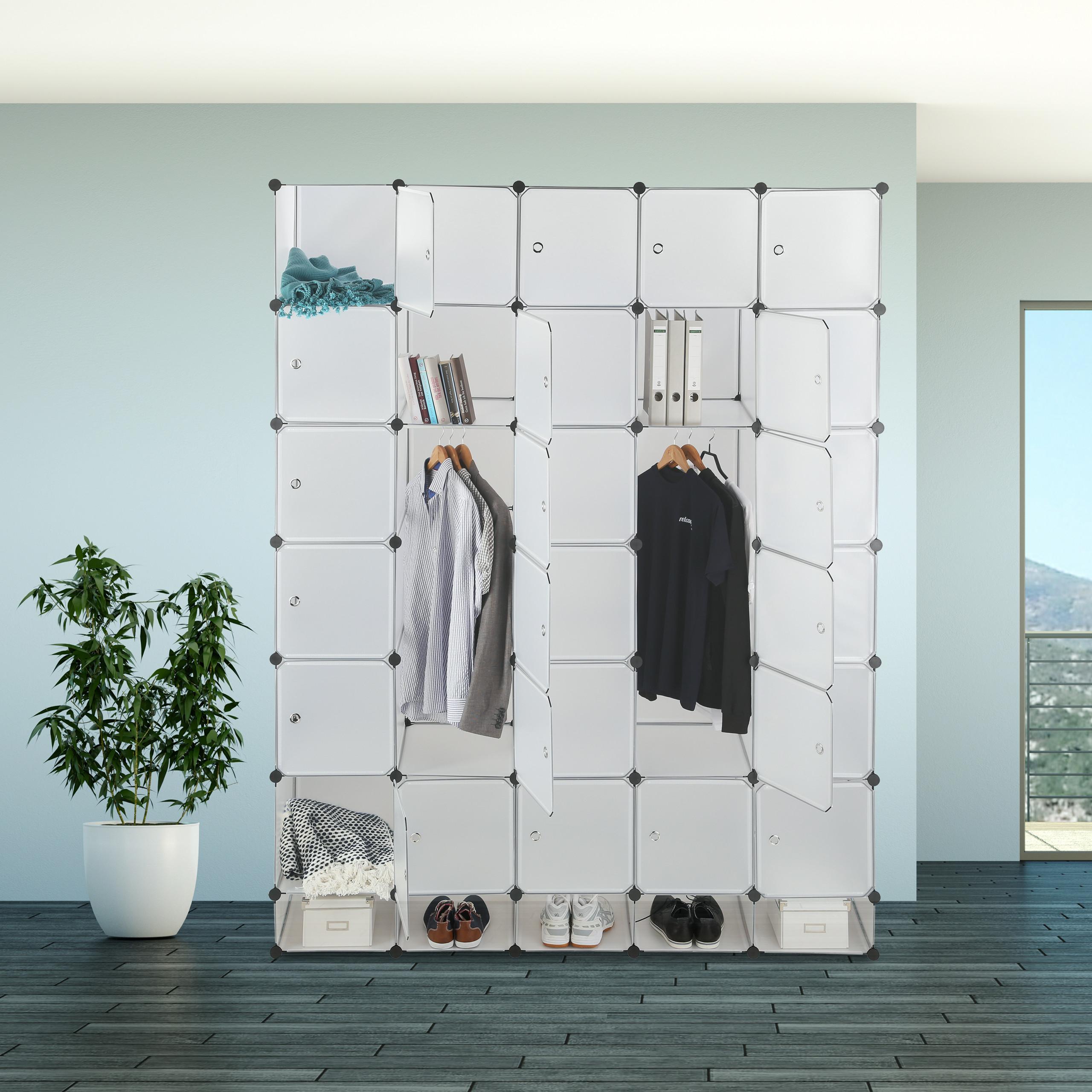 Diy Wardrobe Xxl Kleiderschrank Stecksystem Schlafzimmerschrank