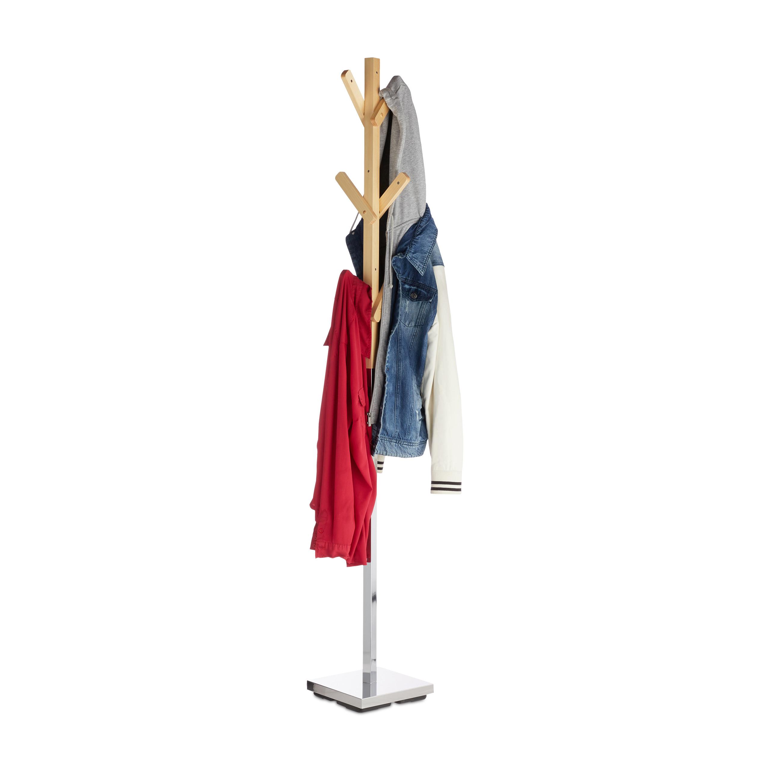 Garderobenständer Metall Garderobe Standgarderobe Jackenständer Flurgarderobe