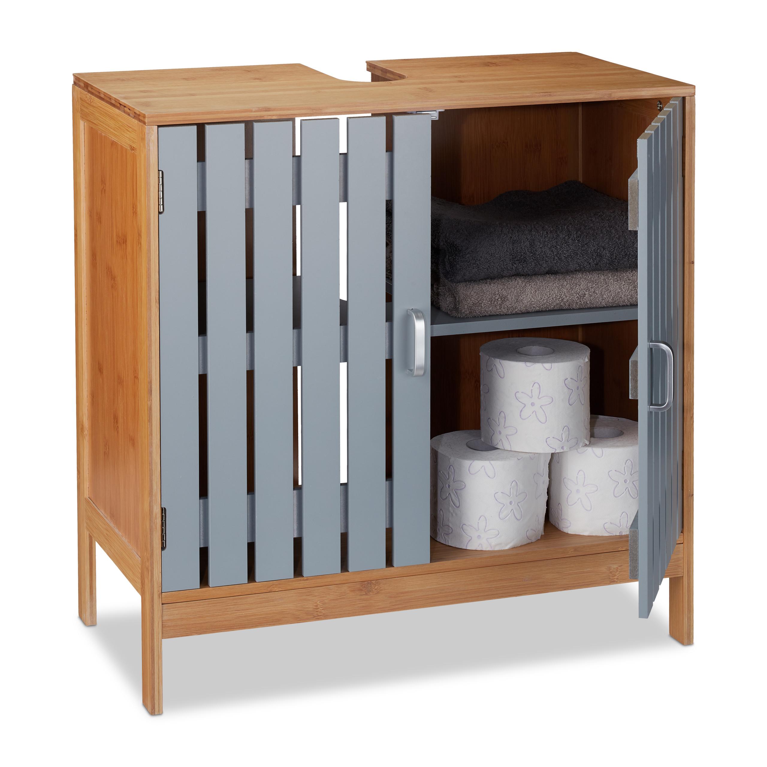 Wash Basin Cabinet Washstand Cupboard Sink Cabinet Bathroom