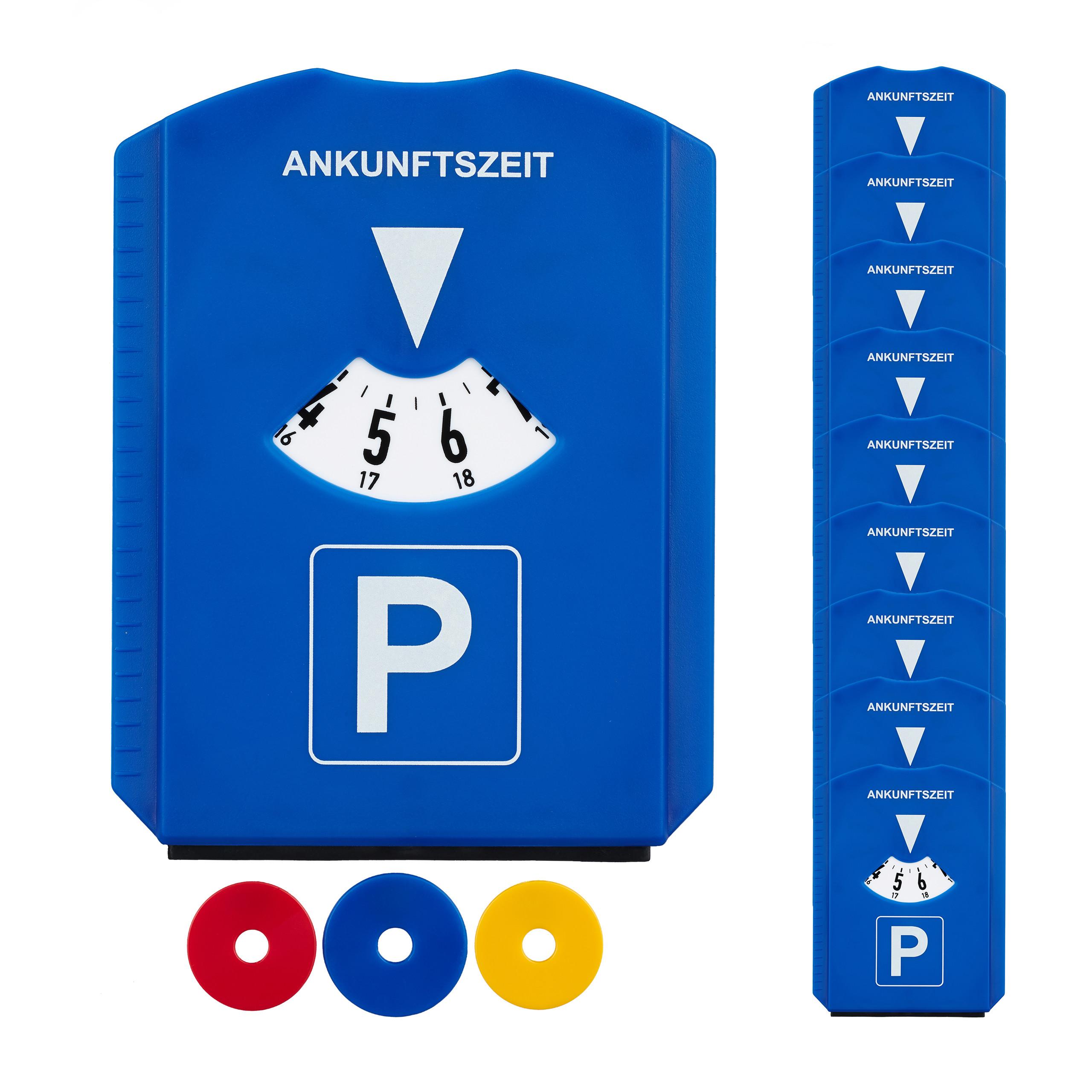 Kunstoff mit Eiskratzer und 3 Einkaufswagwen Chips,Neu Auto,Parkscheibe,Parkuhr