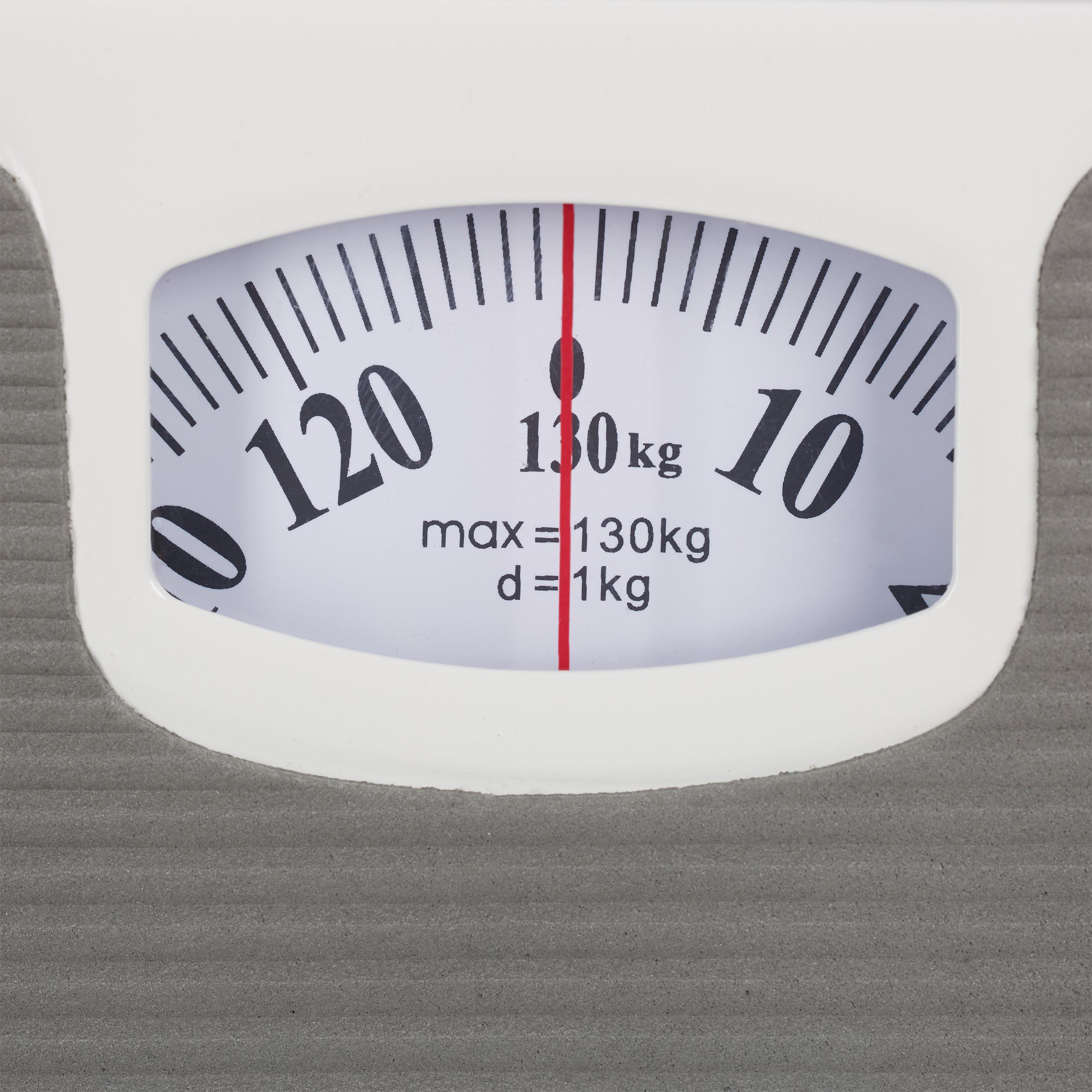 Analoge Personenwaage Körperwaage 130 kg Waage analog Gewichtswaage präzise