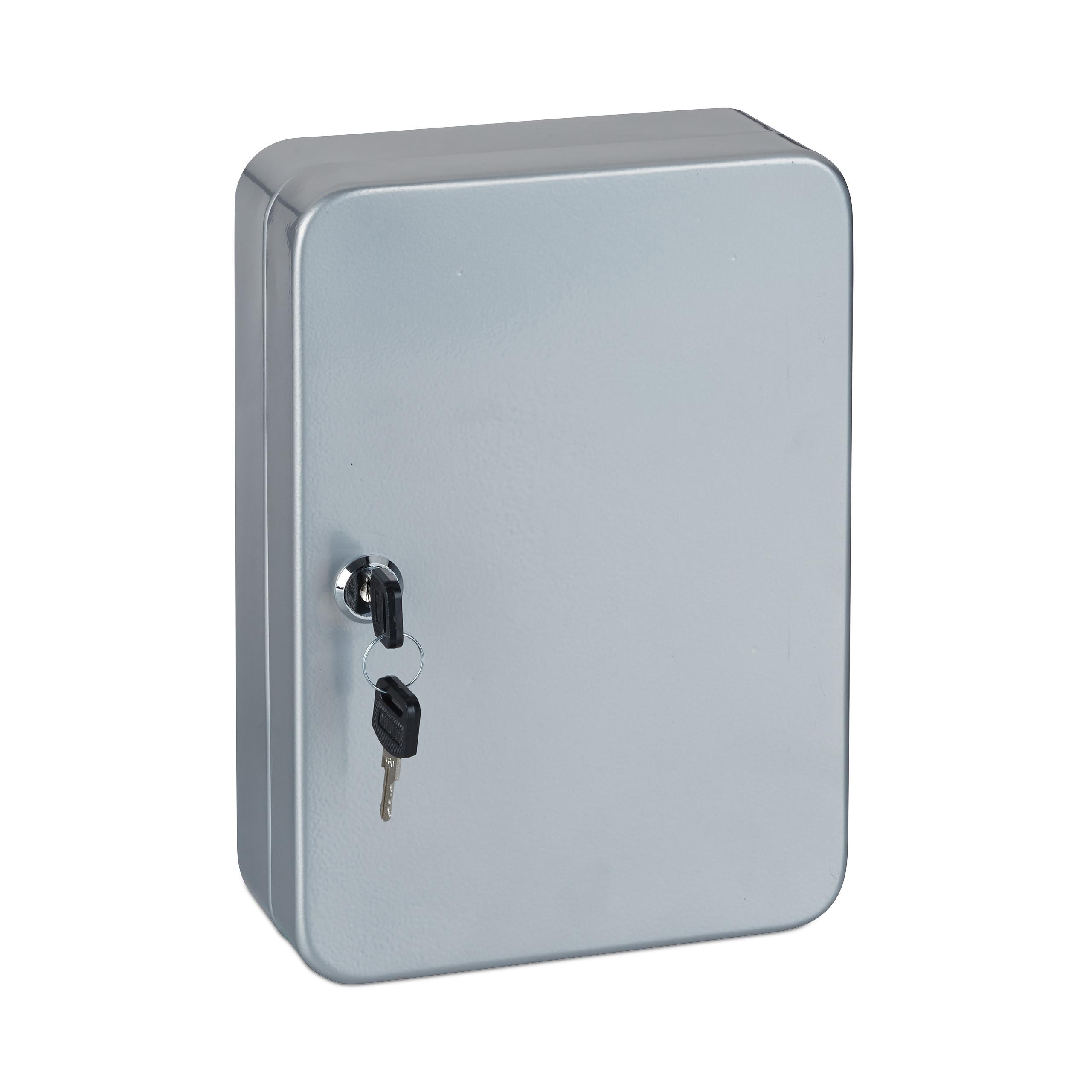 Schlüsselkasten Metall Schlüsselbox Schlüsselsafe abschließbar Key Box 48 Haken