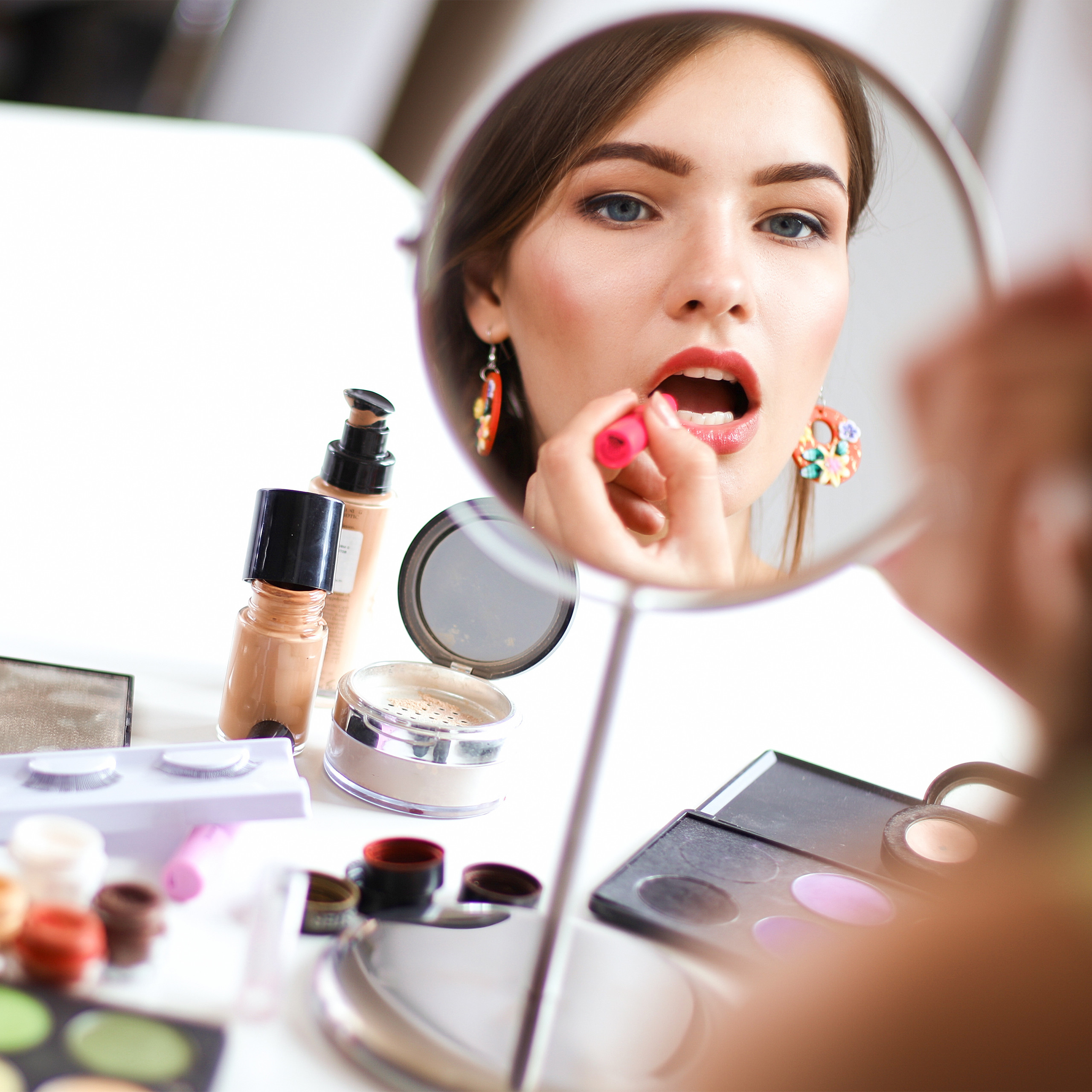 Make-Up-Organizer-Acrylbox-Lippenstifthalter-2-Schubladen-Schmuckaufbewahrung miniatuur 7
