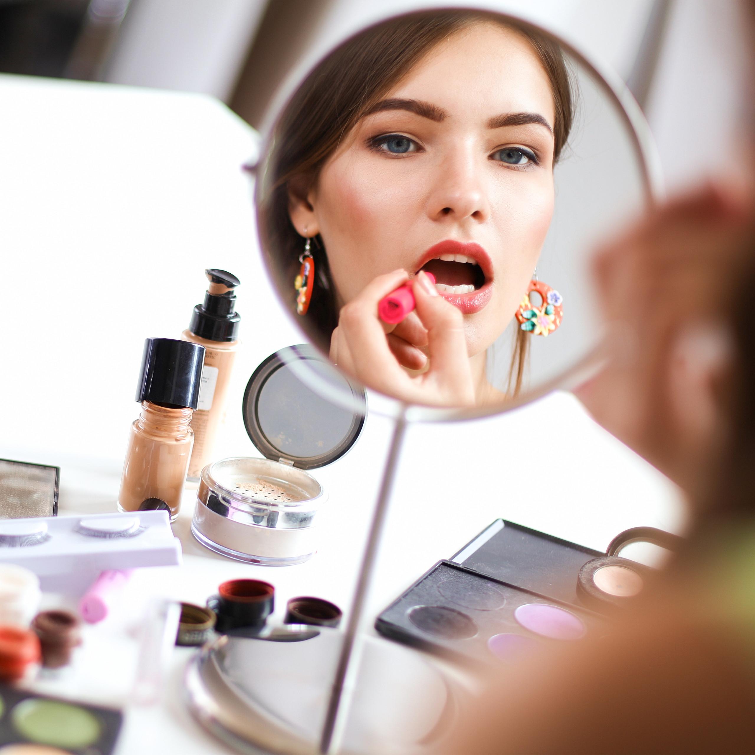 Kosmetik-Organizer-Acrylbox-Schmink-Aufbewahrung-Make-Up-Organizer-3-Schubladen miniatura 7