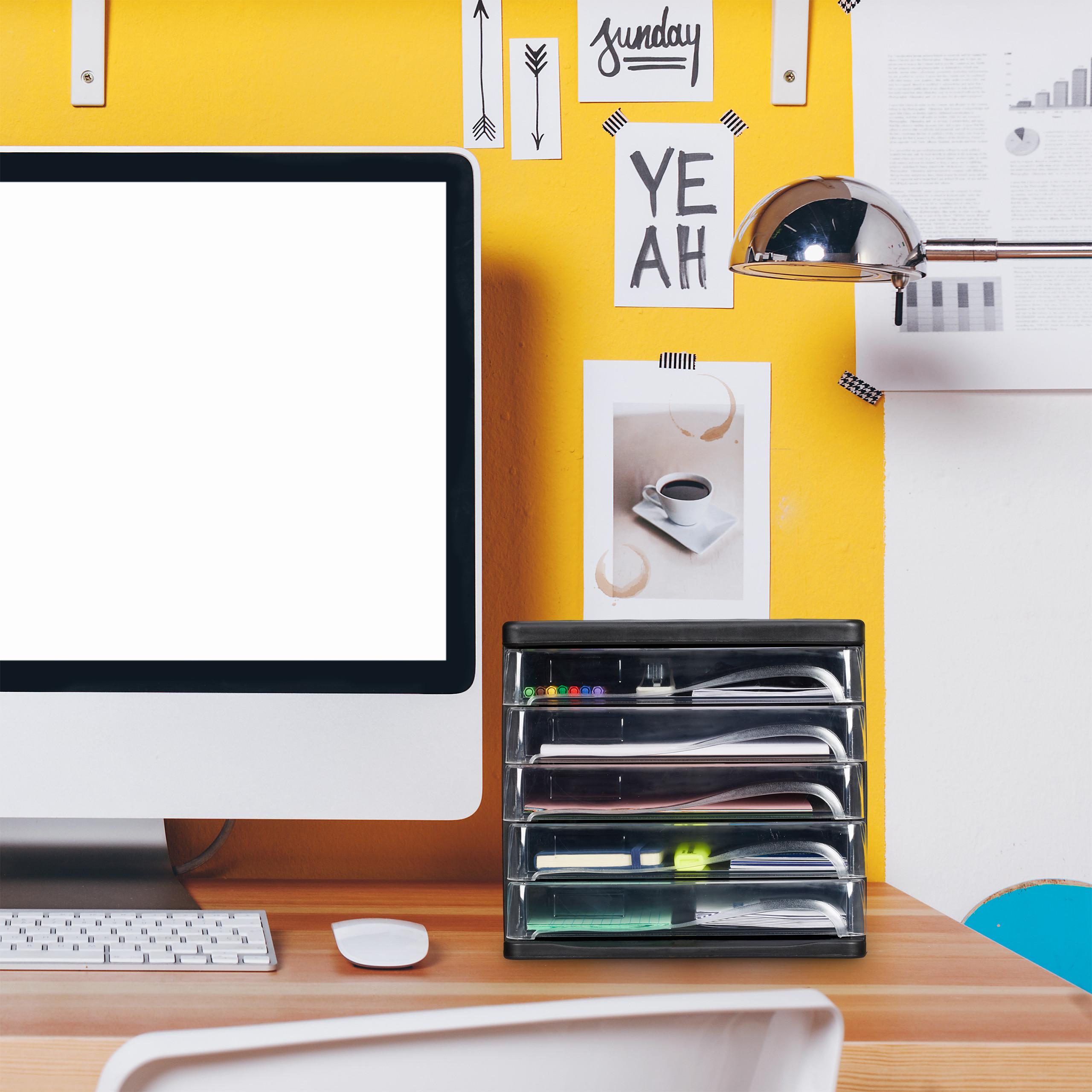 Schubladenbox Büro Ablagebox Bürobox Ablagesystem Systembox Dokumentenablage